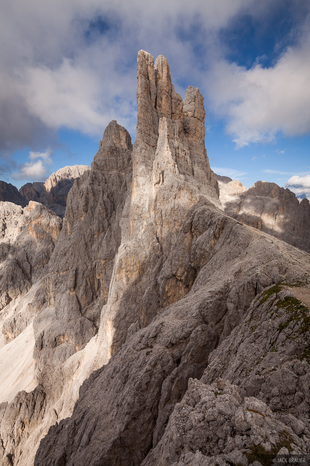 Dolomites,Italy,Rosengarten, Vajolet Towers, photo