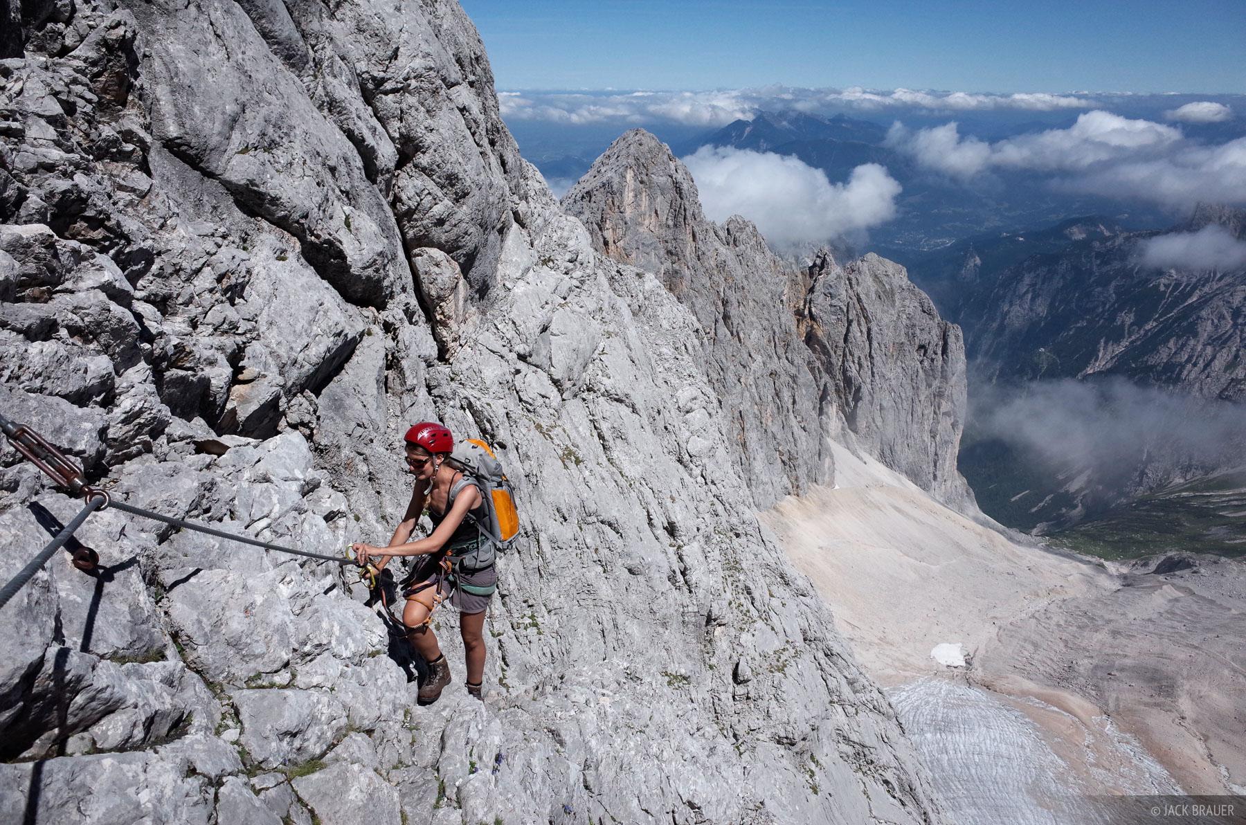 Zugspitze, Wetterstein, Germany, klettersteig, photo