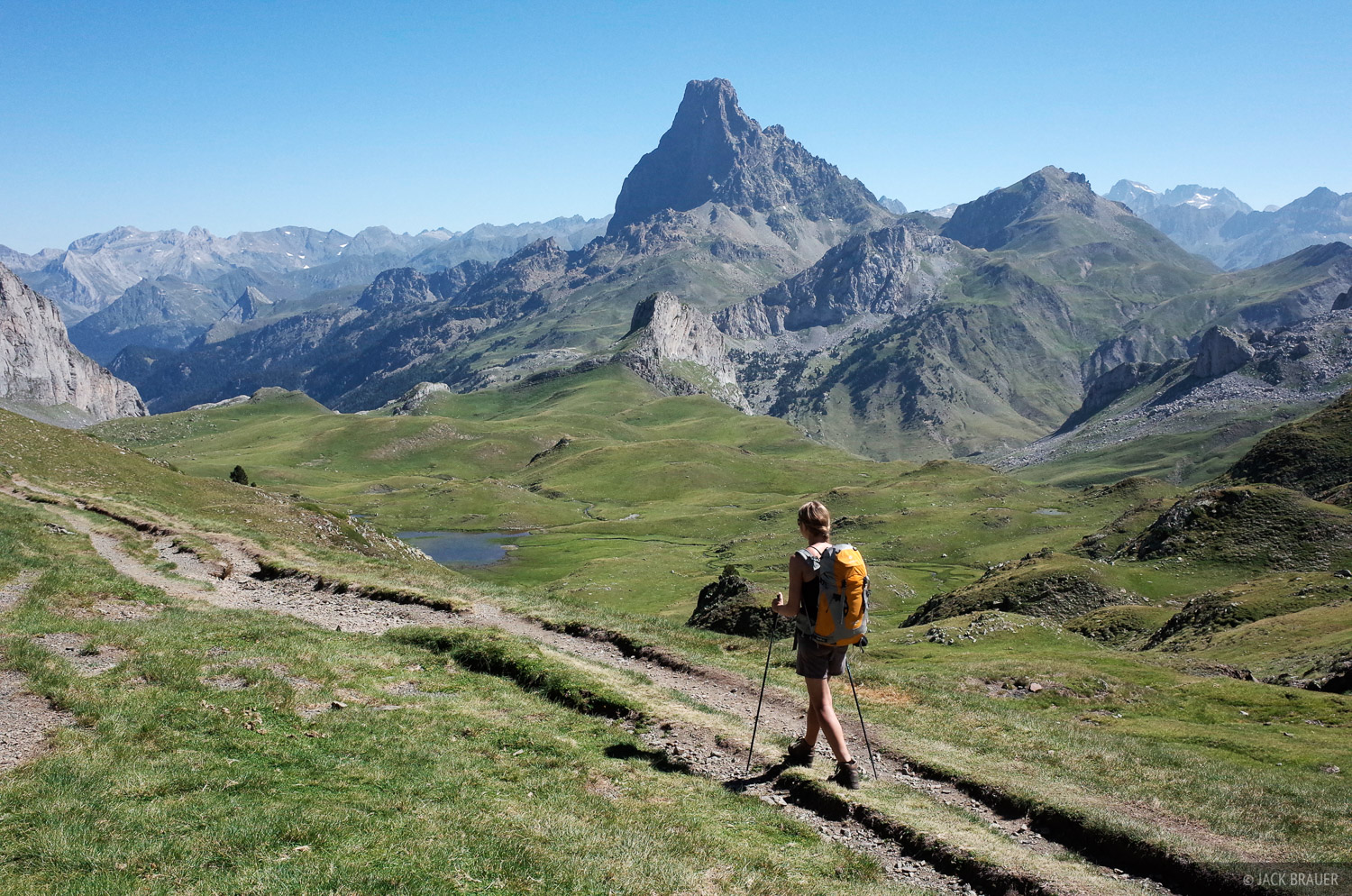 Pyrenees, Pic du Midi d'Ossau, hiking, photo