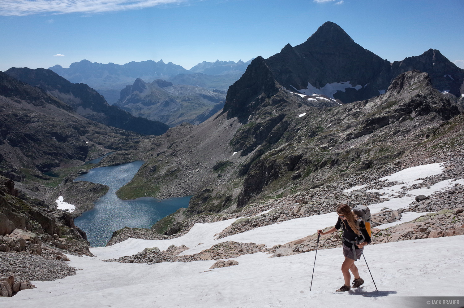 Pic d' Arriel, Pyrenees, hiking, photo