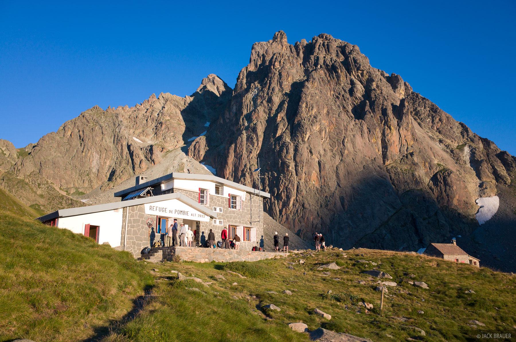 Pyrenees, refuge, pompie, photo