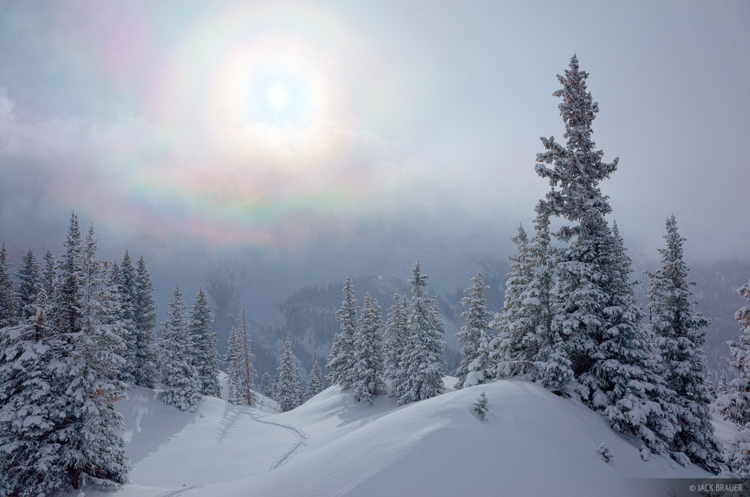 snowbow, San Juan Mountains, Colorado, Red Mountain Pass, photo