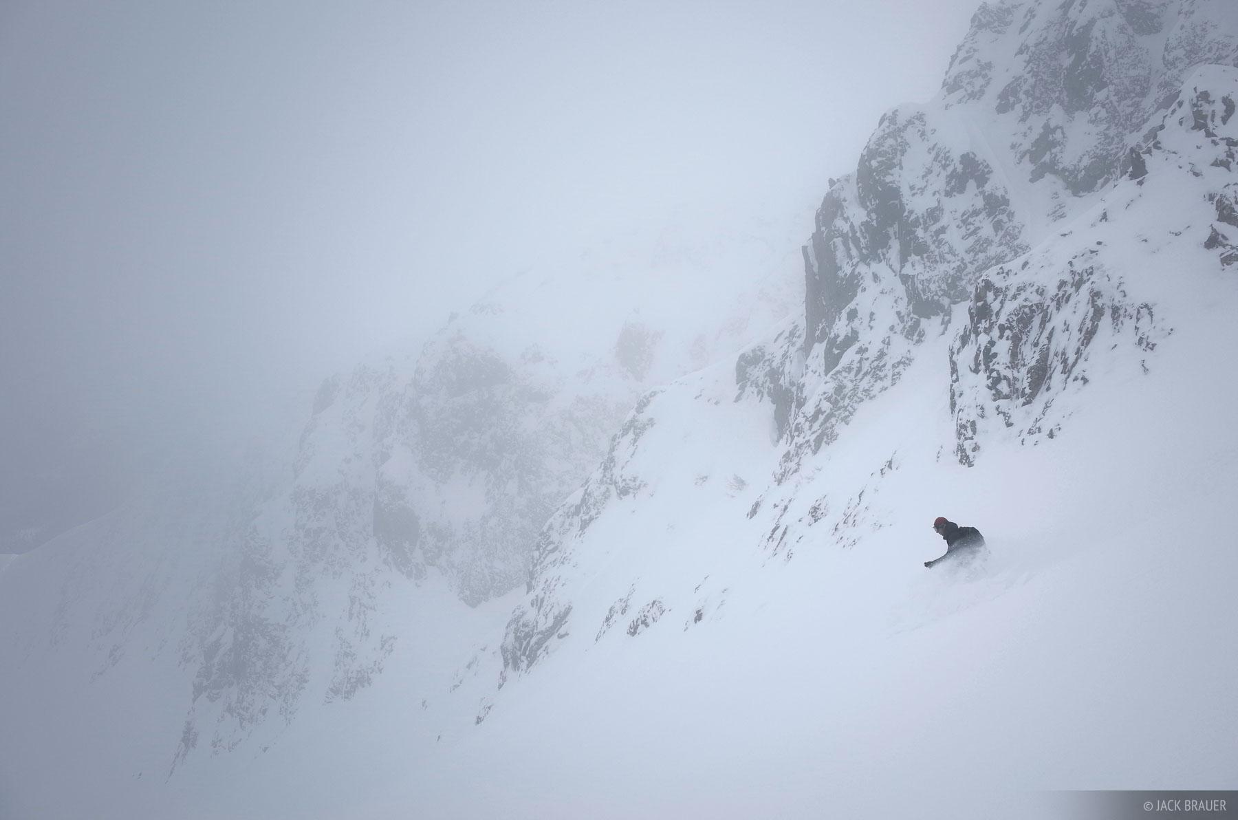 Colorado, Red Mountain Pass, San Juan Mountains, skiing, photo