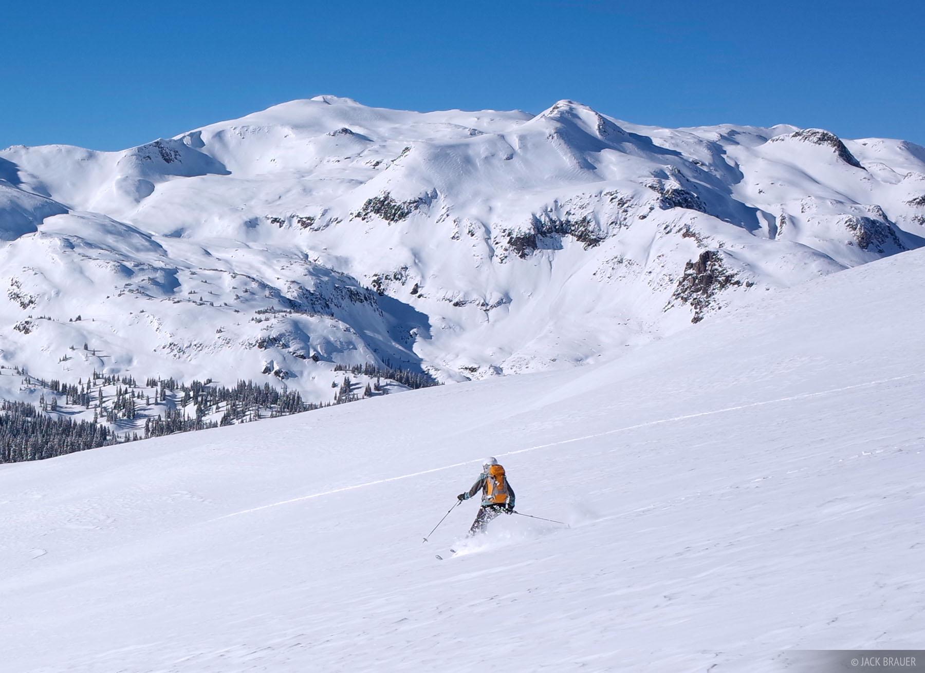 San Juan Mountains, Colorado, skiing, photo