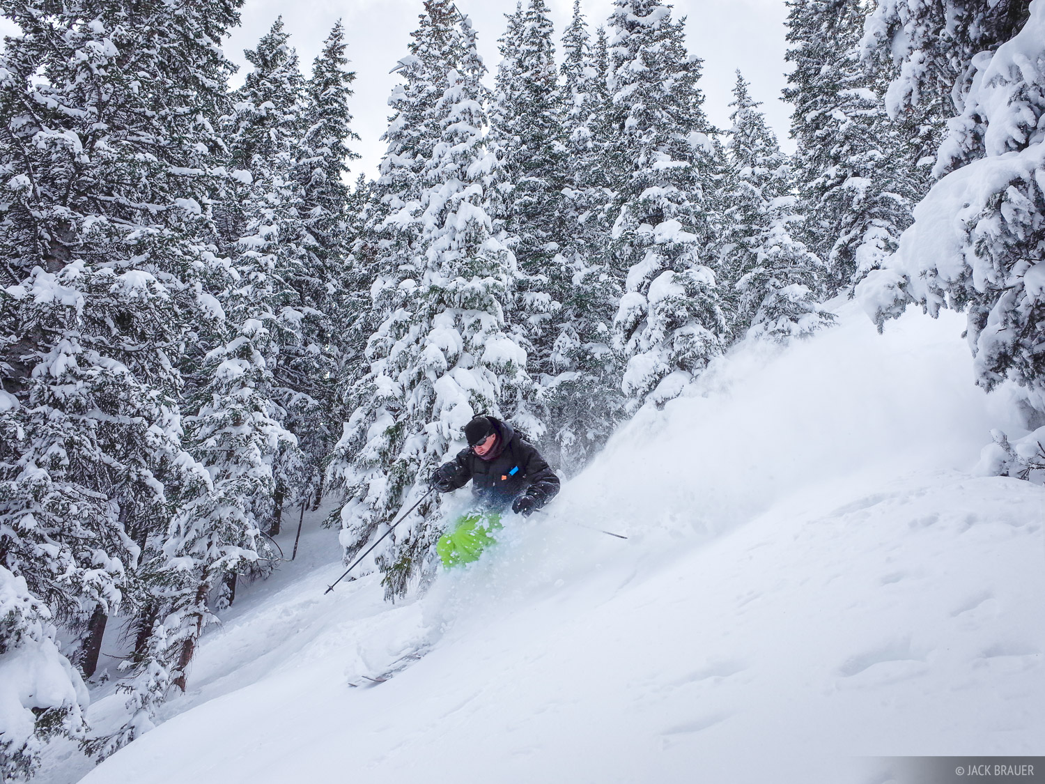 Scott Kennett, skiing, San Juan Mountains, Colorado, photo