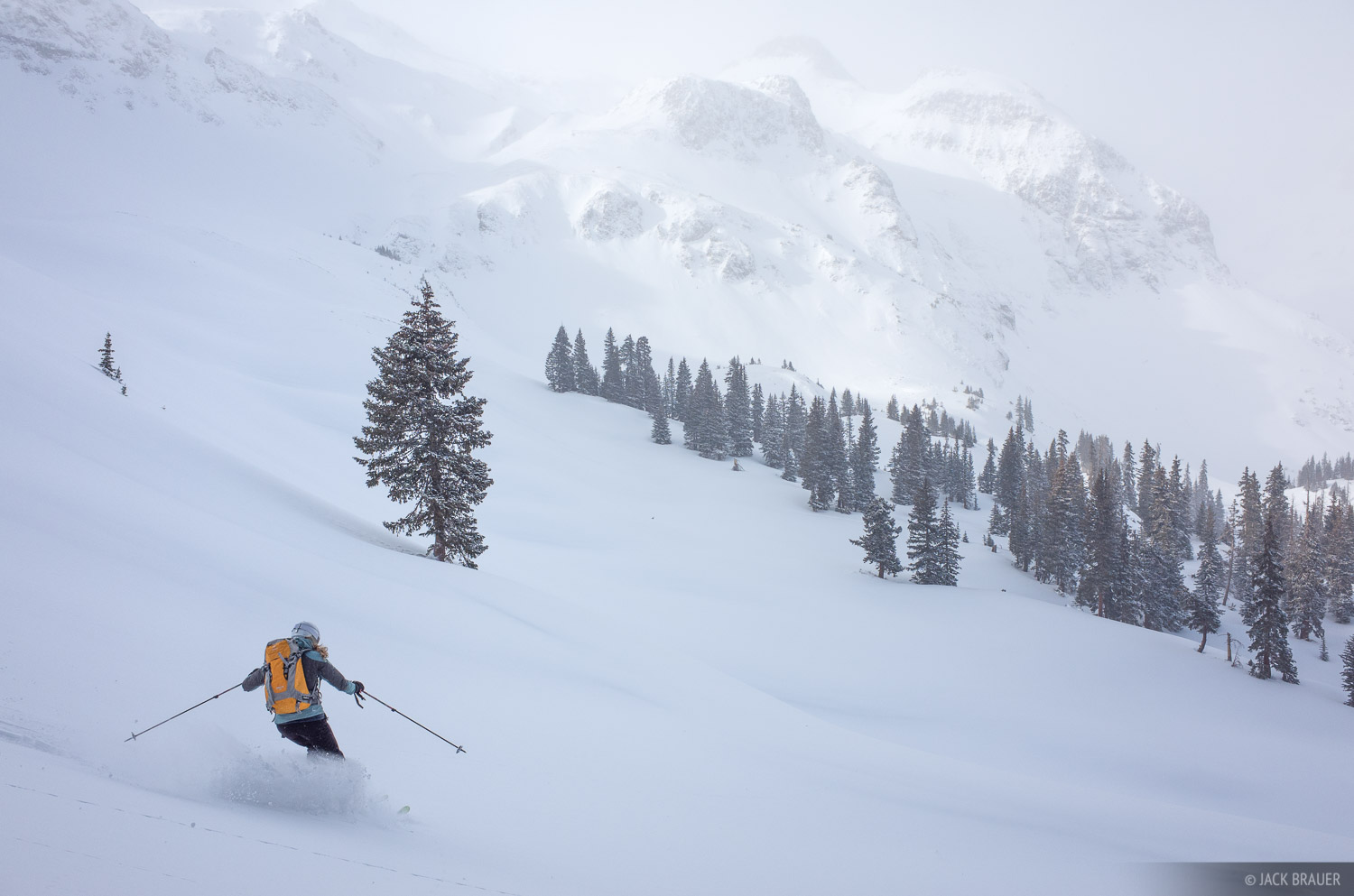 skiing, San Juan Mountains, Colorado, December, photo
