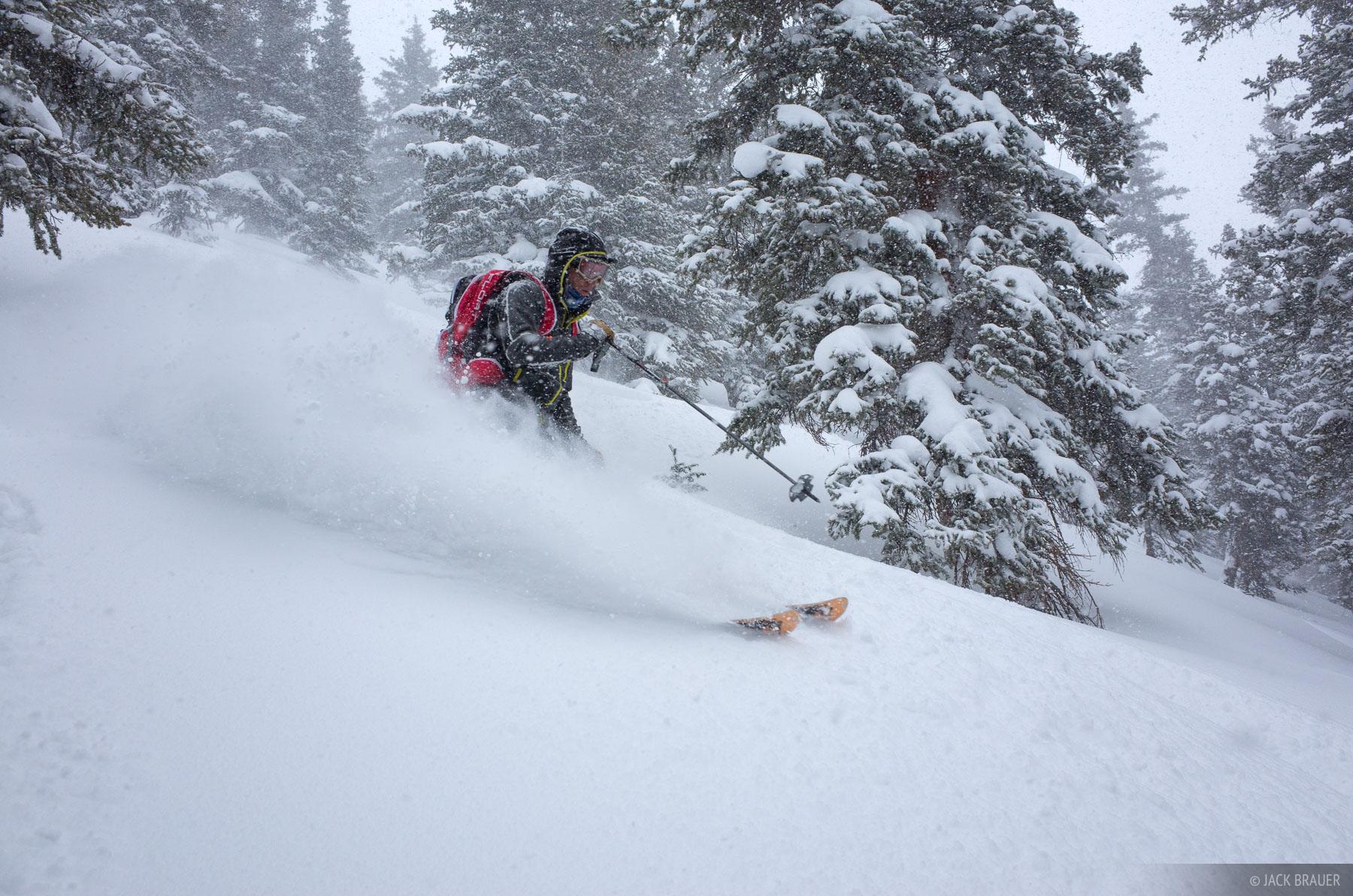 Skier: Don Moden