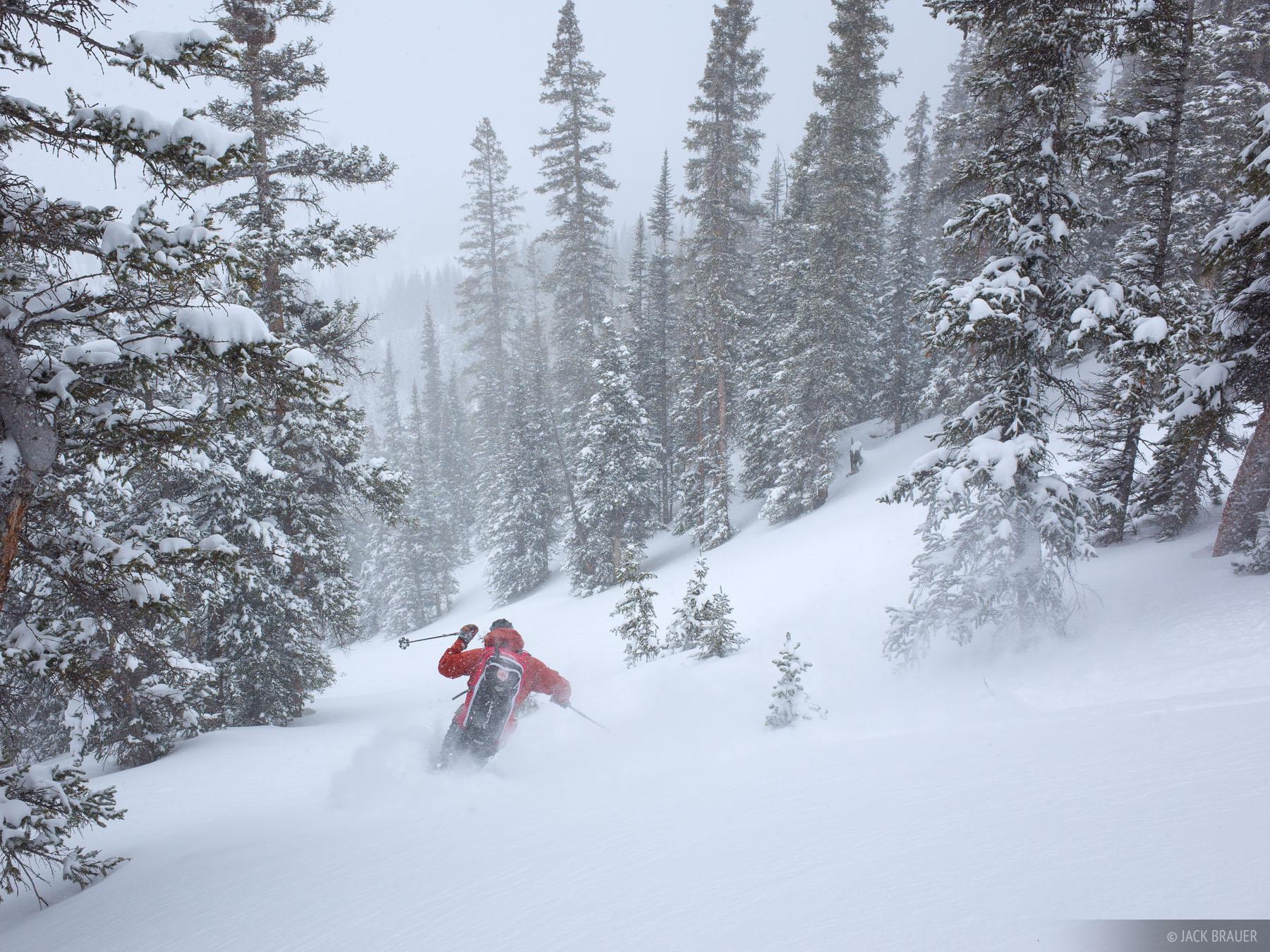 Colorado,San Juan Mountains, skiing, photo