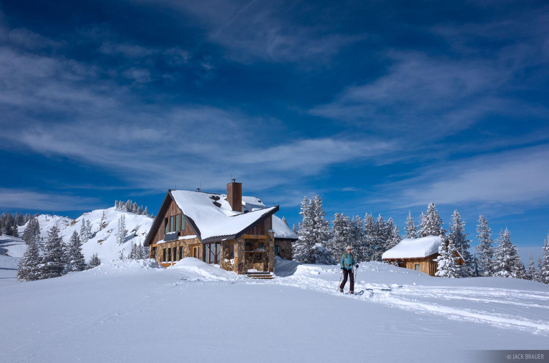 Colorado, Fowler Hilliard Hut, Gore Range, January, skiing, hut, photo