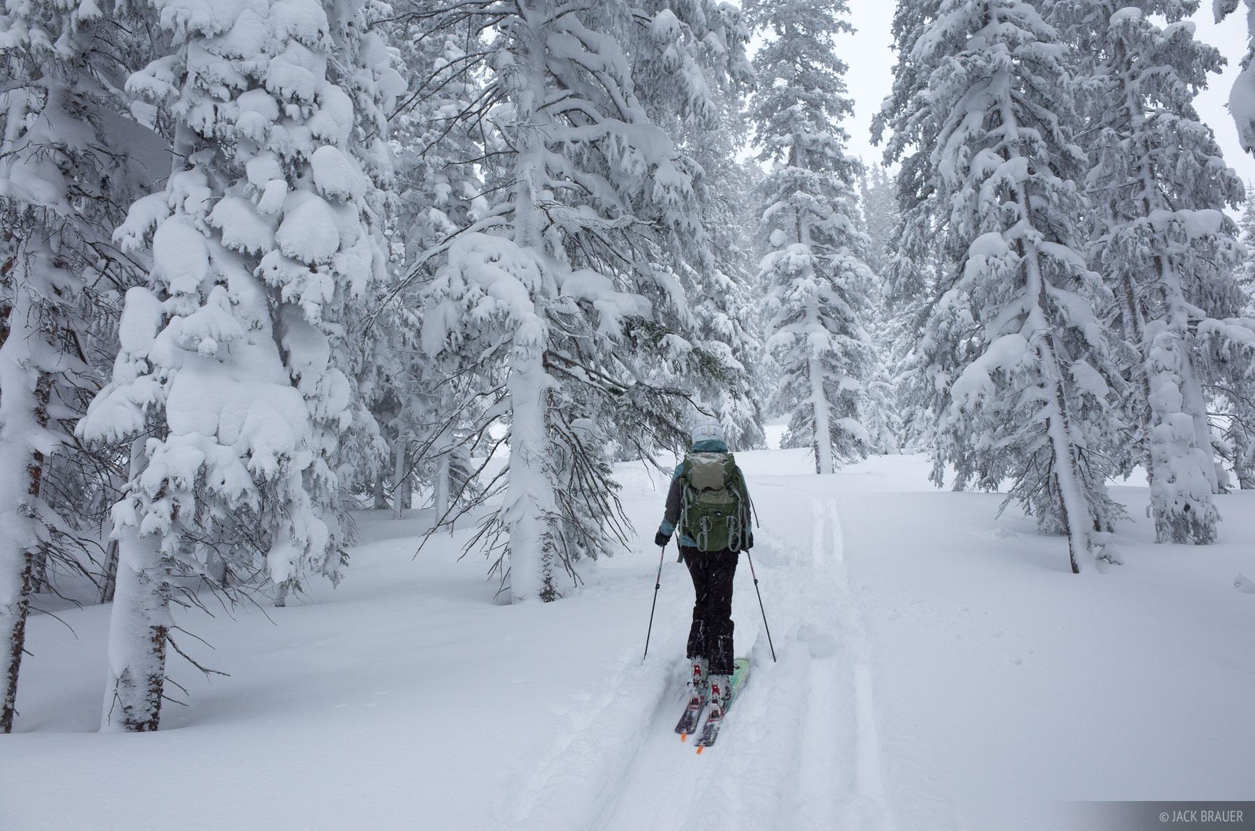 Colorado, Fowler Hilliard, Gore Range, January, skiing, Fowler/Hilliard, winter, active, 2014