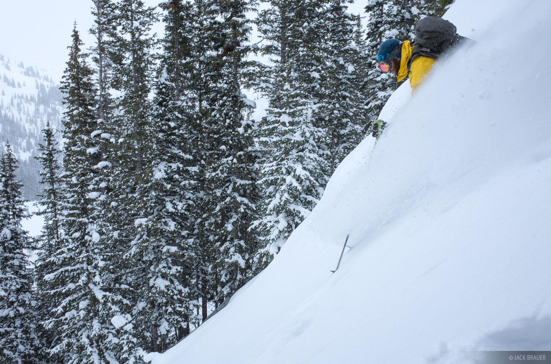 Colorado, Red Mountain Pass, San Juan Mountains, skiing, February, powder, photo