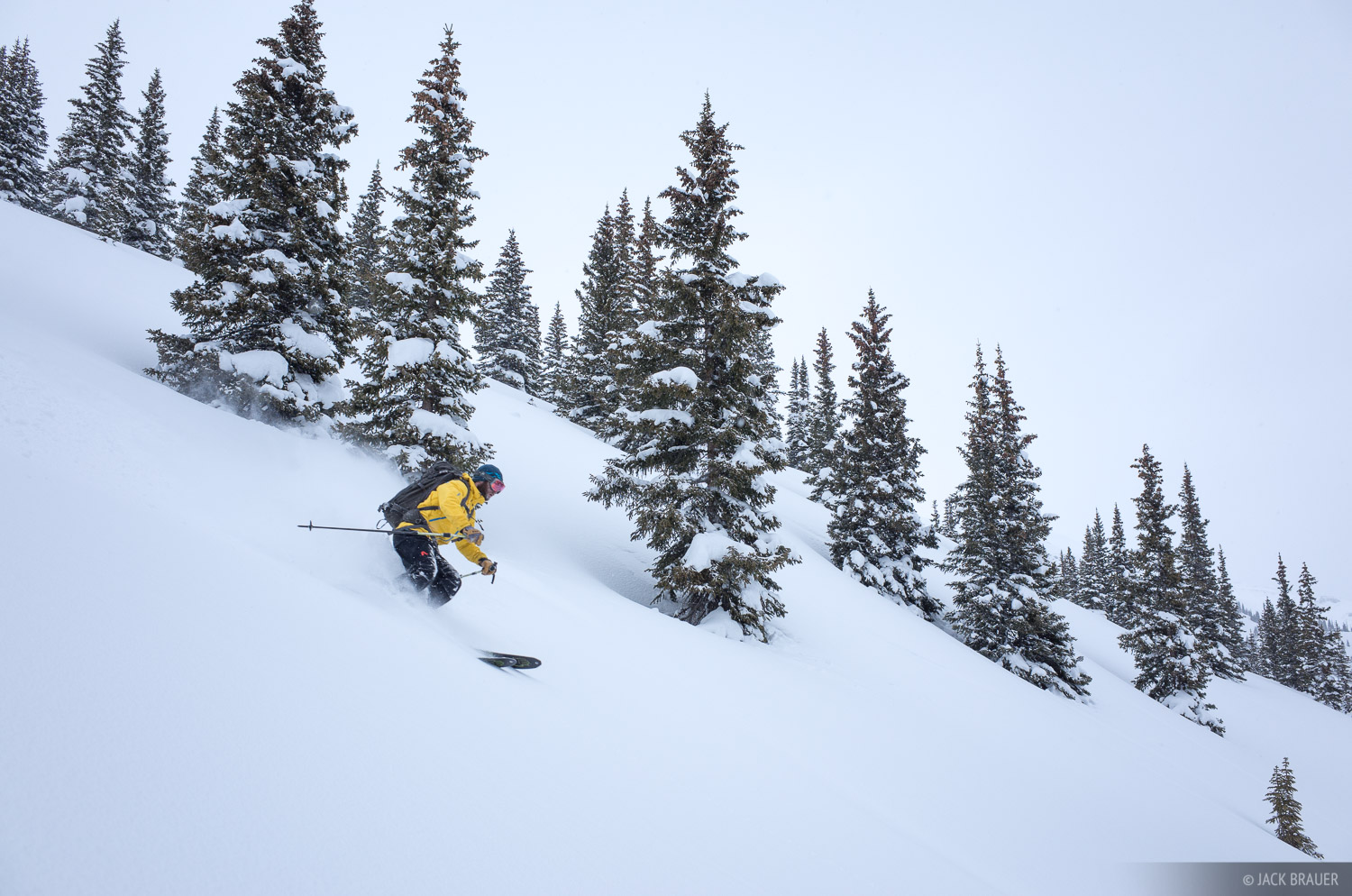 Colorado, Red Mountain Pass, San Juan Mountains, skiing, February, powder, photo