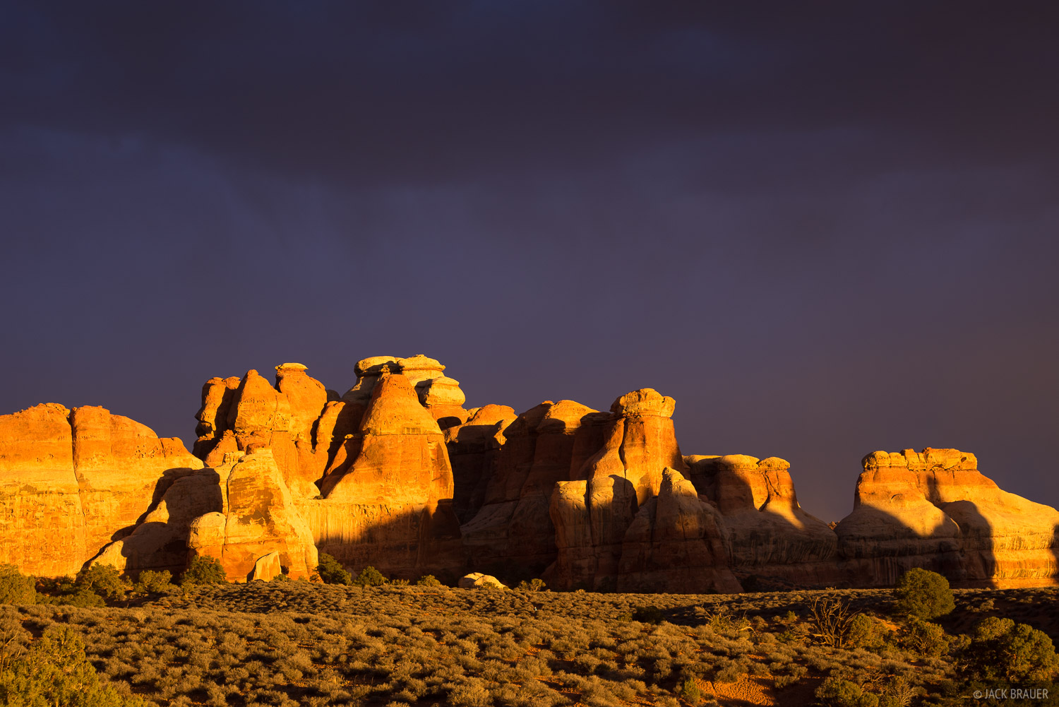 Canyonlands National Park, Needles District, Utah, Chesler Park, photo