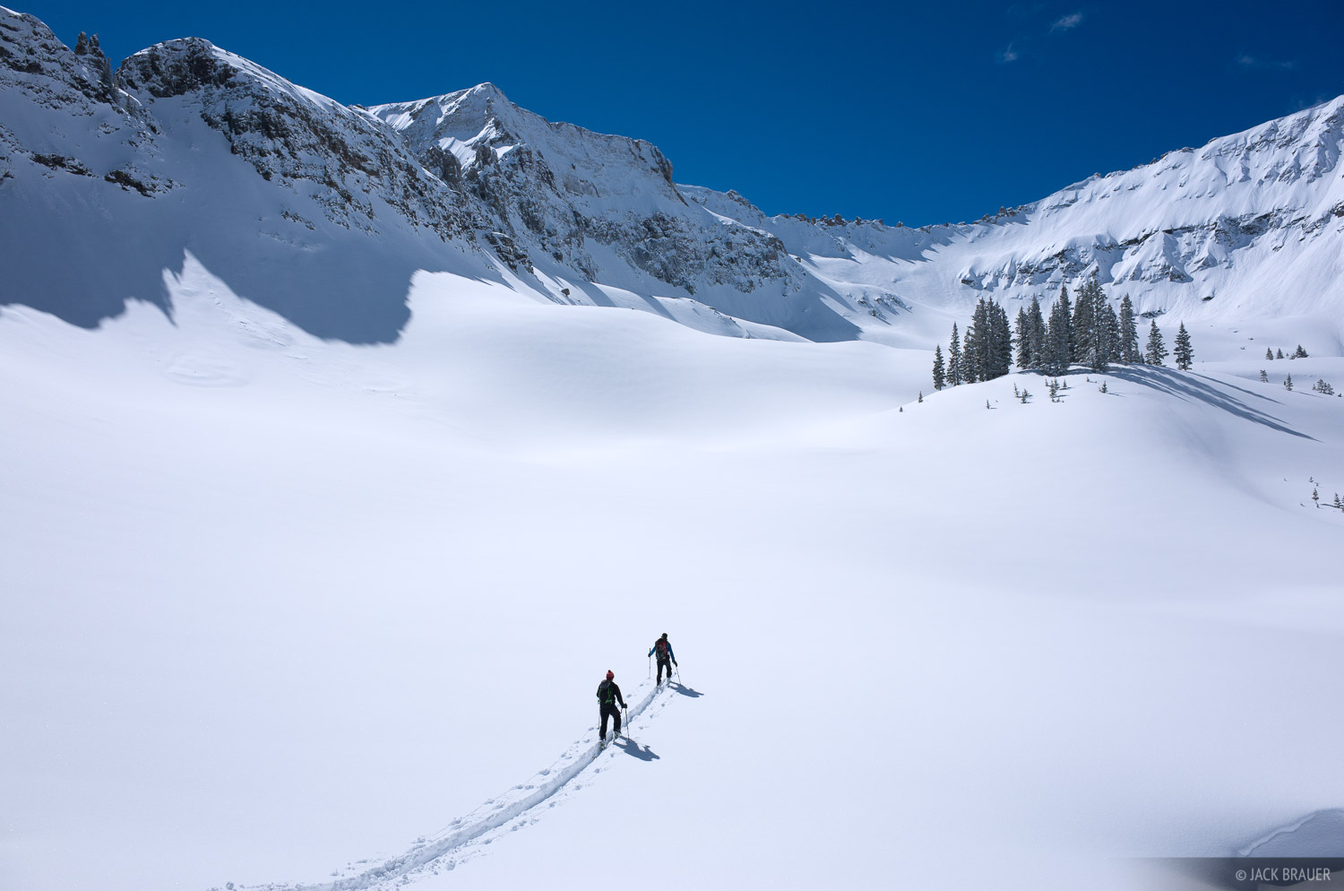 San Juan Mountains, Colorado, skiing, photo