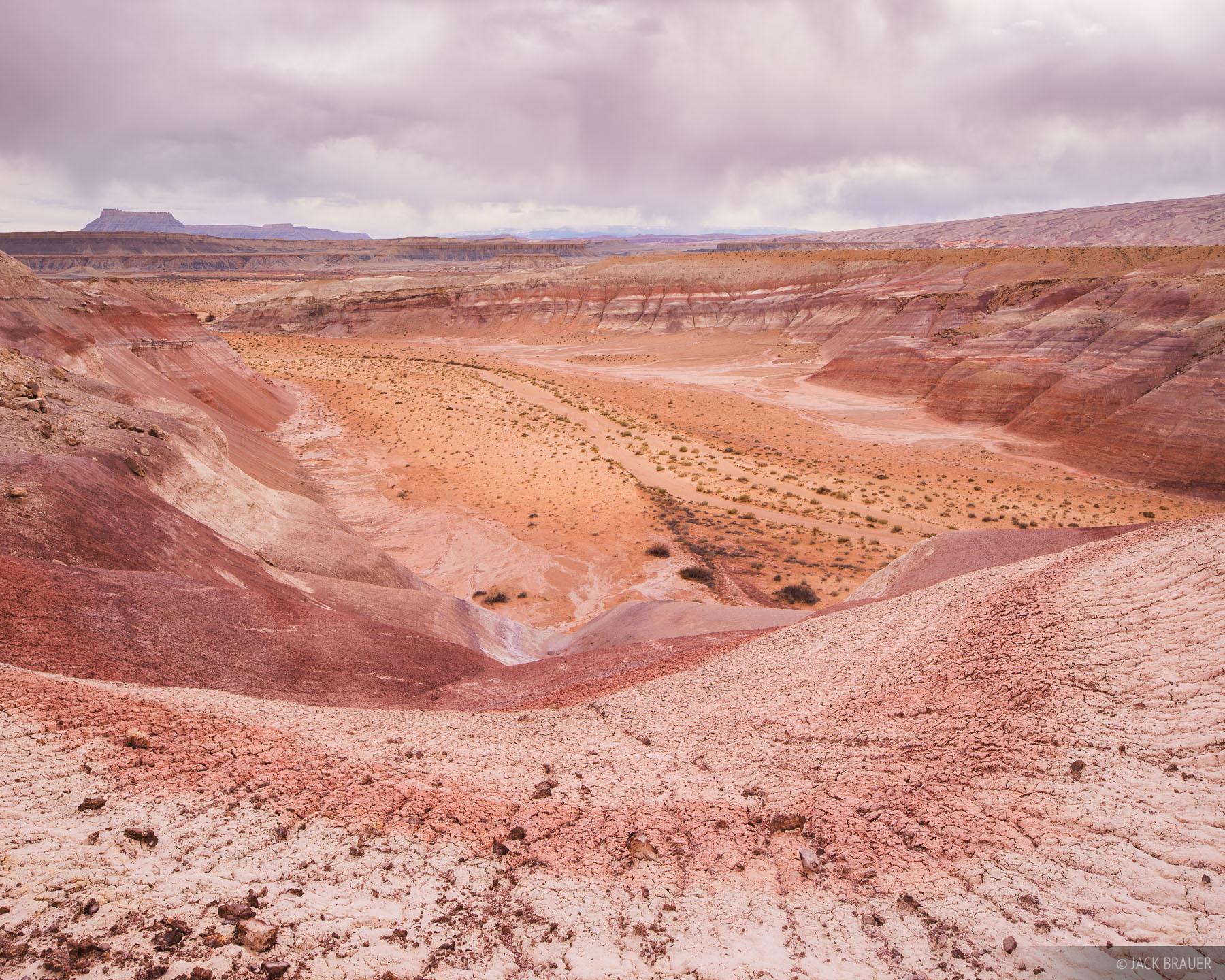 Bentonite,San Rafael Swell,Utah, photo