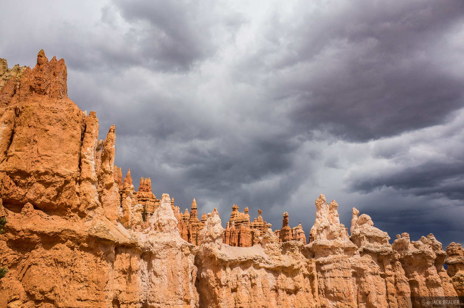 Bryce Canyon,Utah, clouds, photo