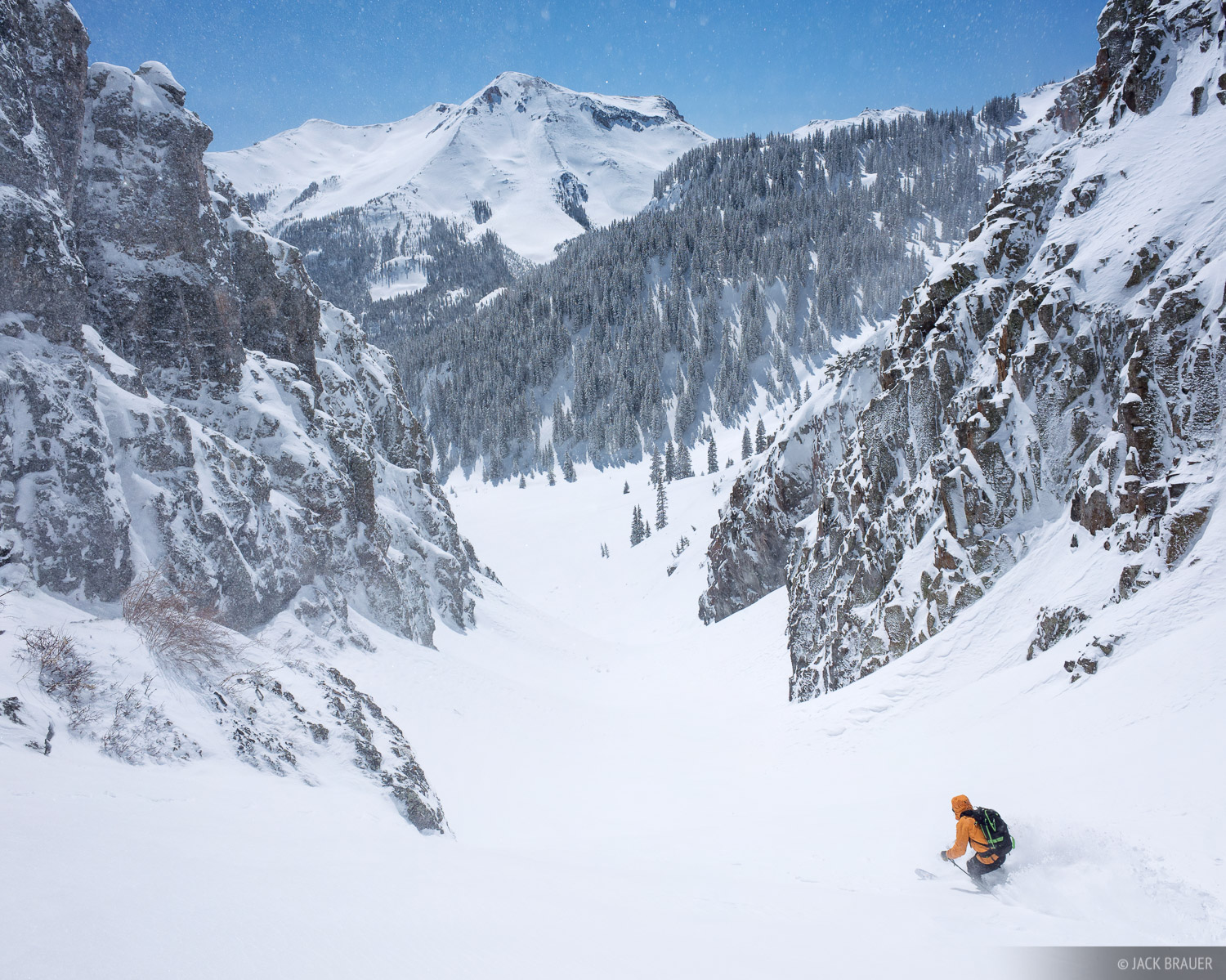 Colorado,Red Mountain Pass,San Juan Mountains, Dan Chehayl, skiing, photo