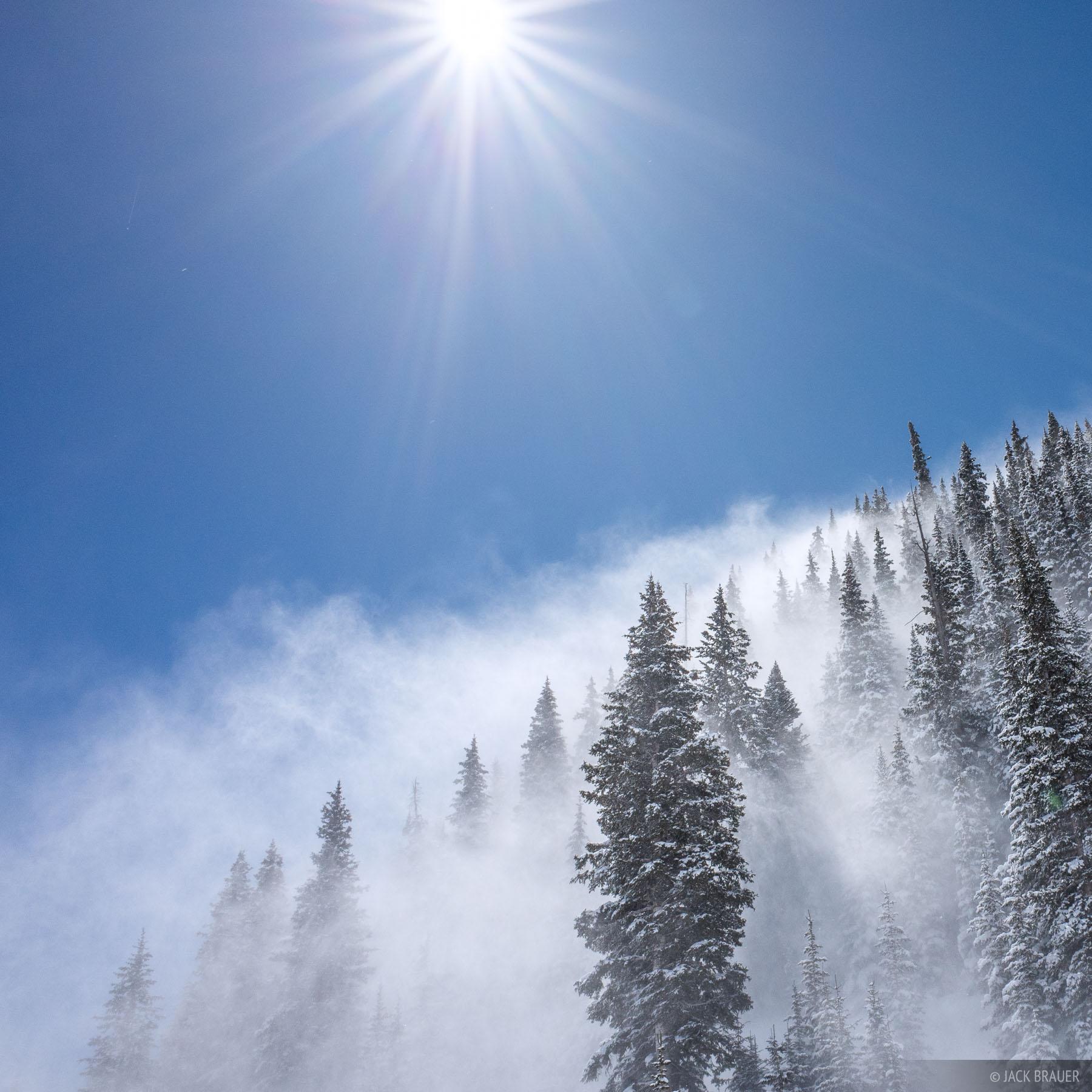 Colorado,Red Mountain Pass,San Juan Mountains, wind, snow, photo