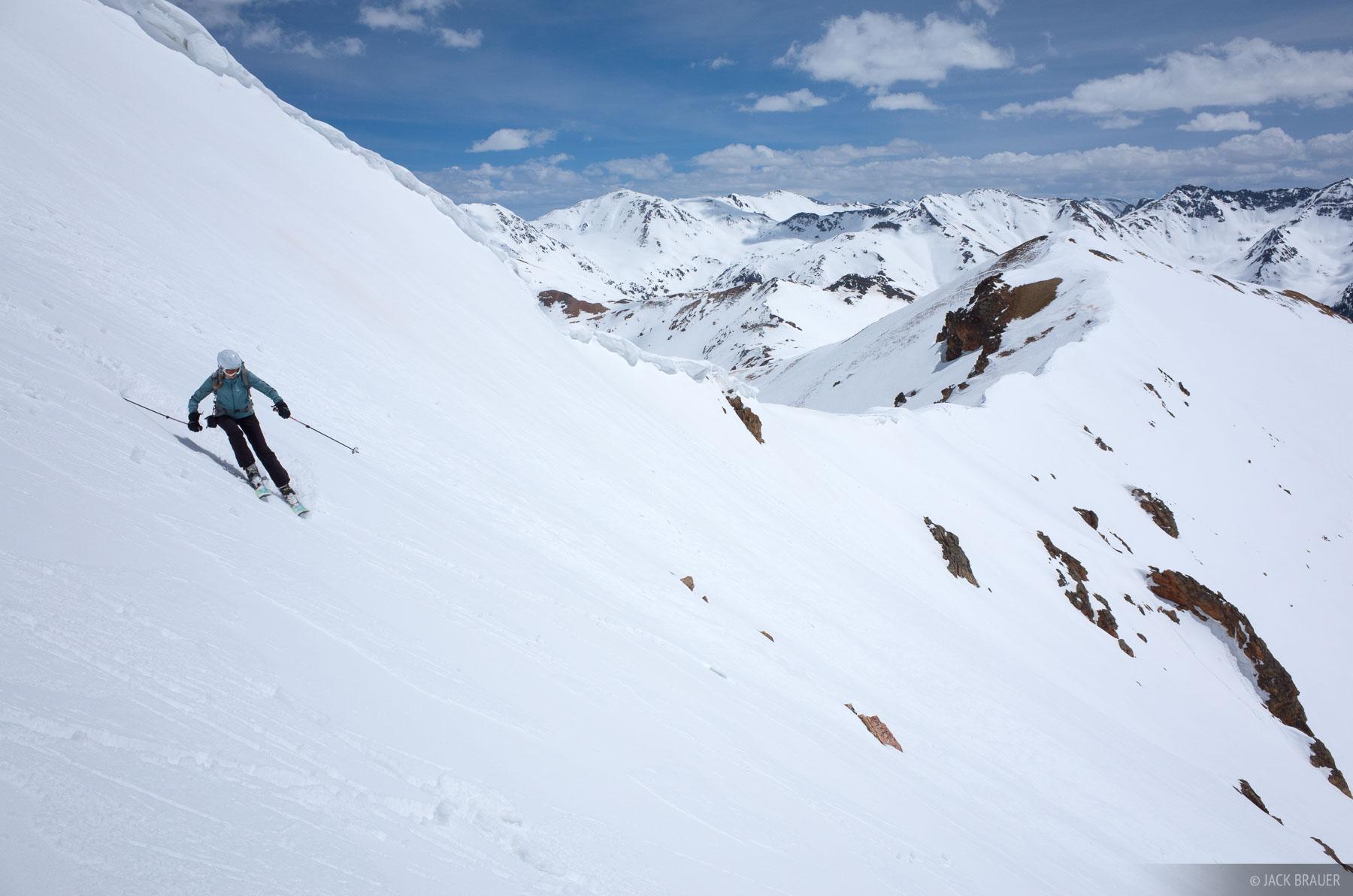 Colorado,Red Mountain Pass,San Juan Mountains,skiing, photo