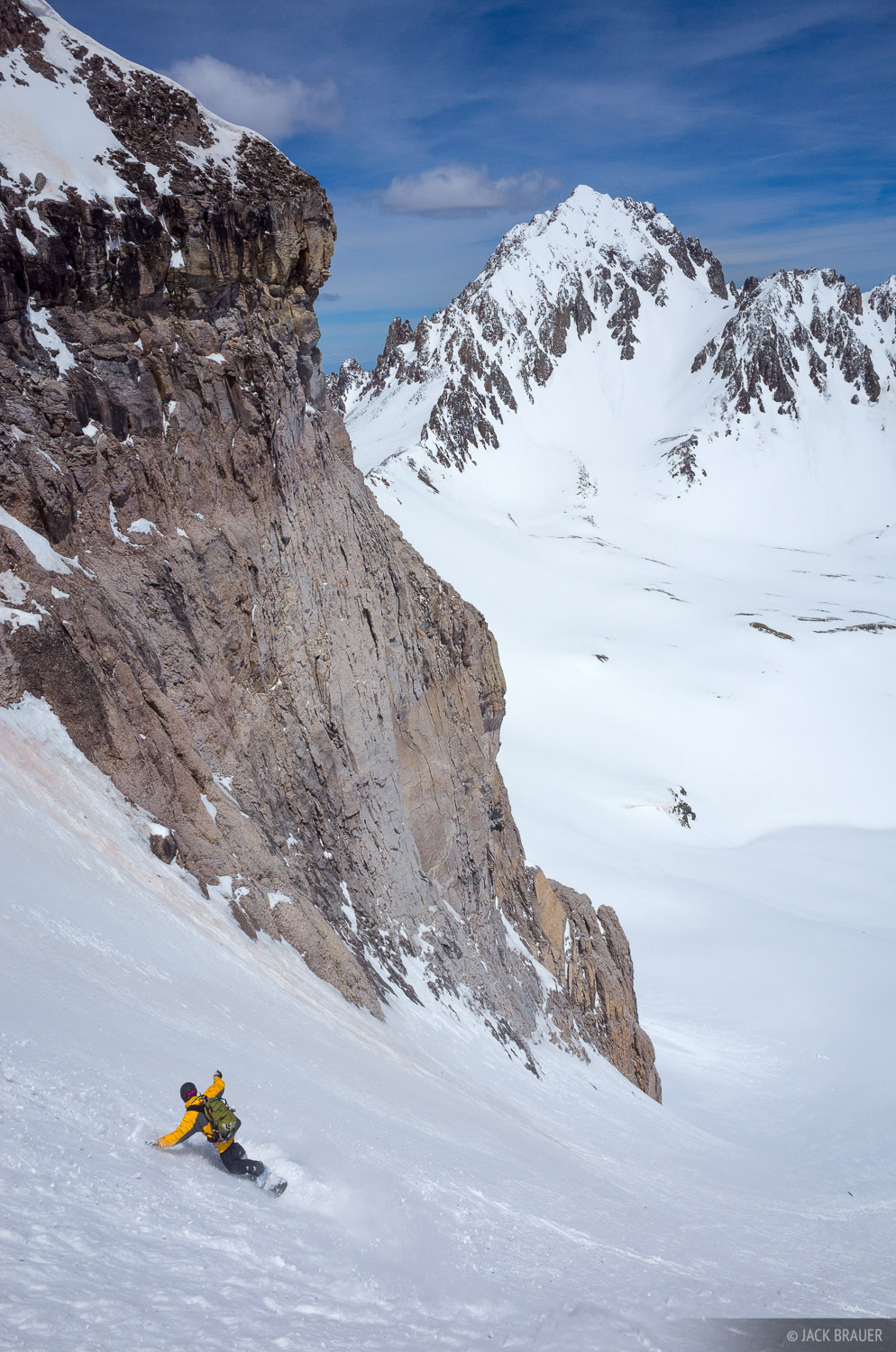 Colorado,Gilpin Peak,San Juan Mountains,Sneffels Range, snowboarding, photo