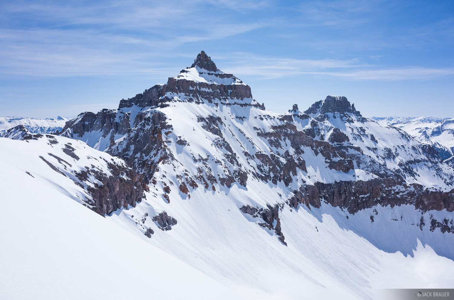 Cirque Mountain,Colorado,San Juan Mountains,Sneffels Range, photo
