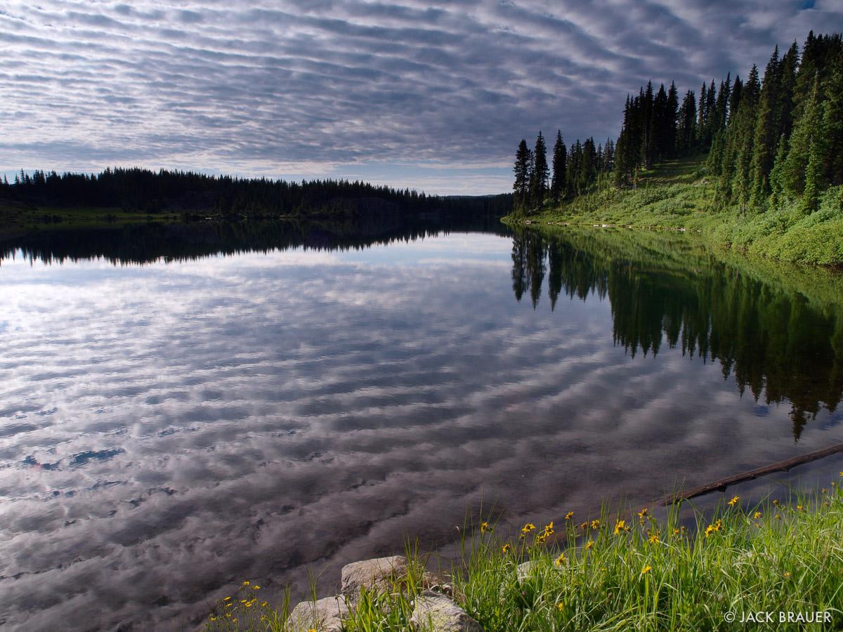 Blue Lake, South San Juans, Colorado, photo
