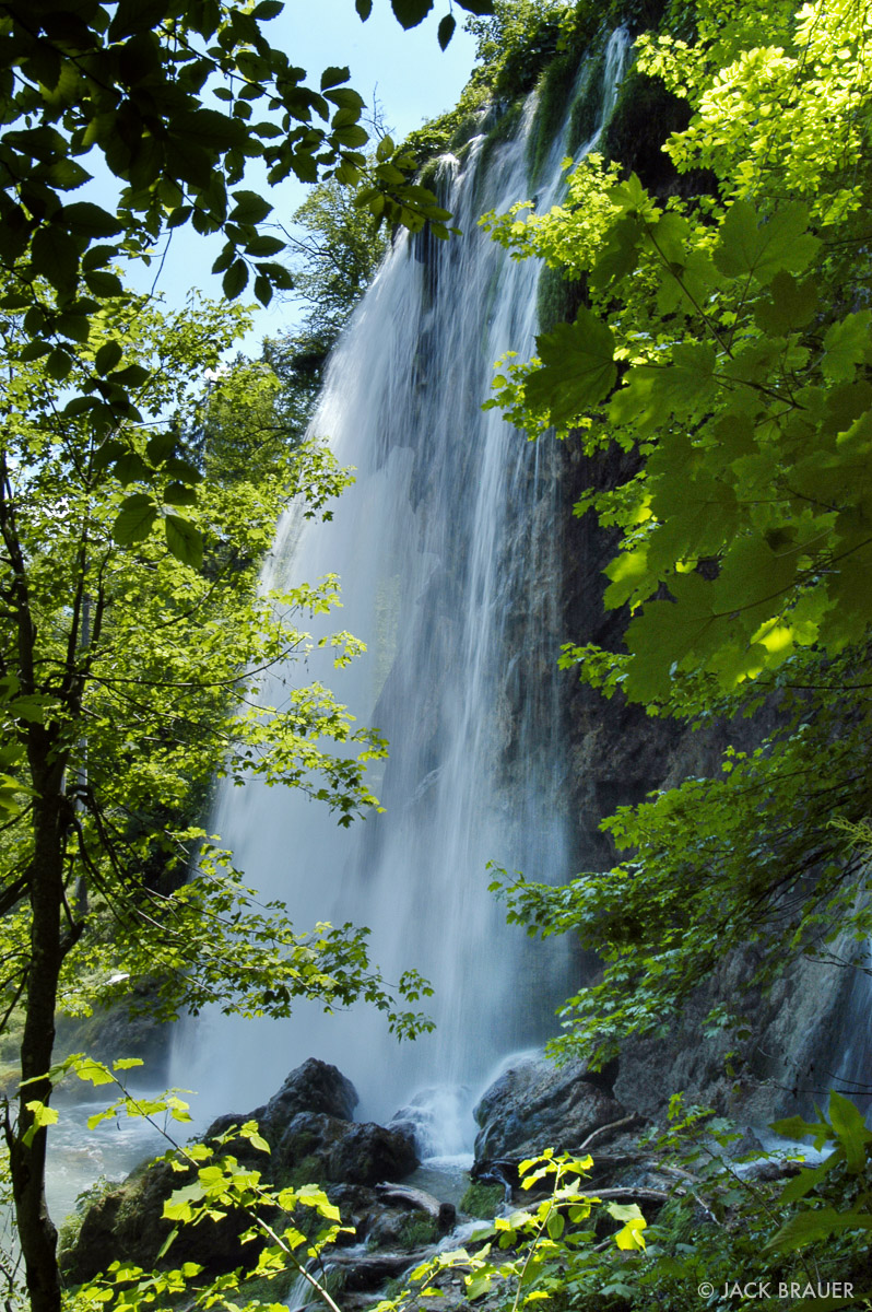 Plitvicka Jezera, waterfall, Croatia, photo