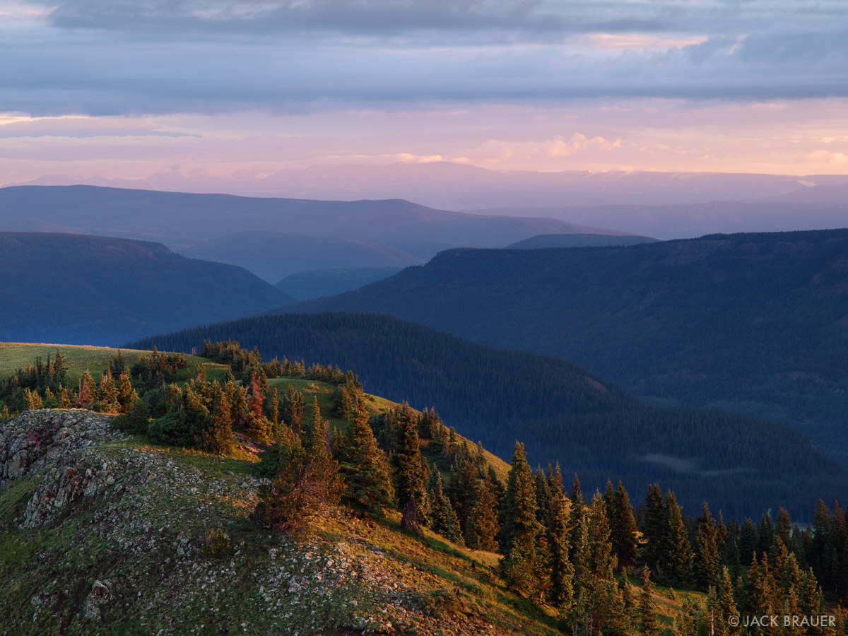 sunrise, Rio Grande National Forest, Colorado, photo