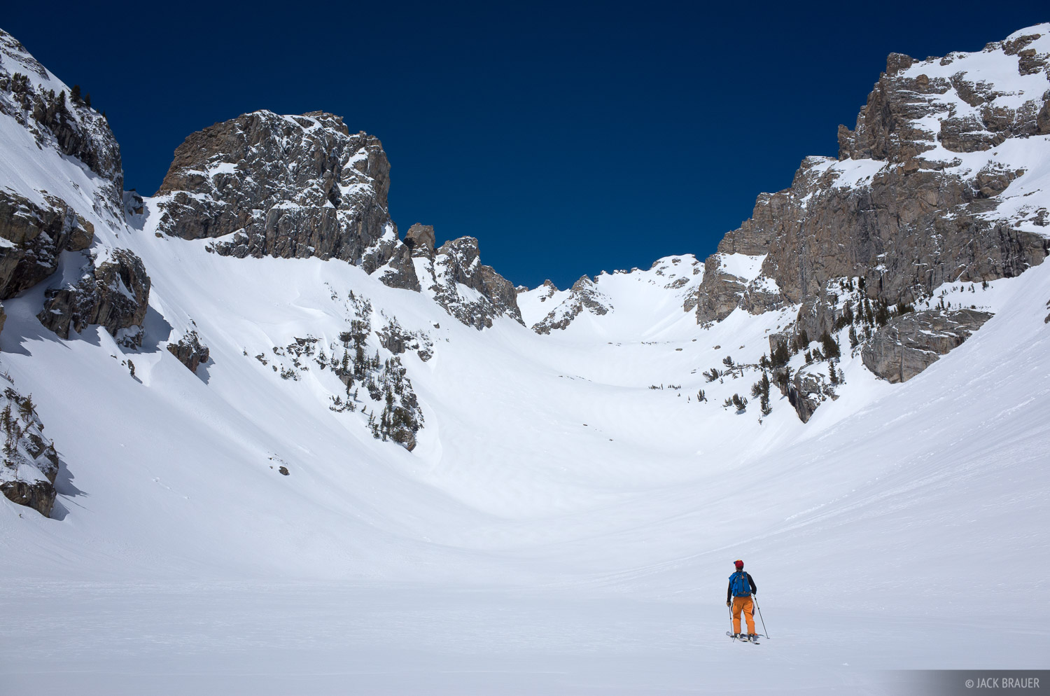 Tetons,The Jaw,Wyoming, skiing, photo