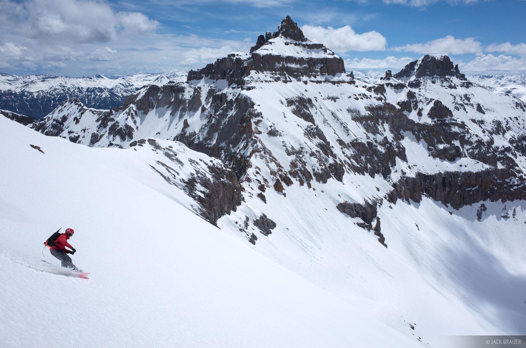 snowboarding,Colorado,San Juan Mountains,Sneffels Range, photo