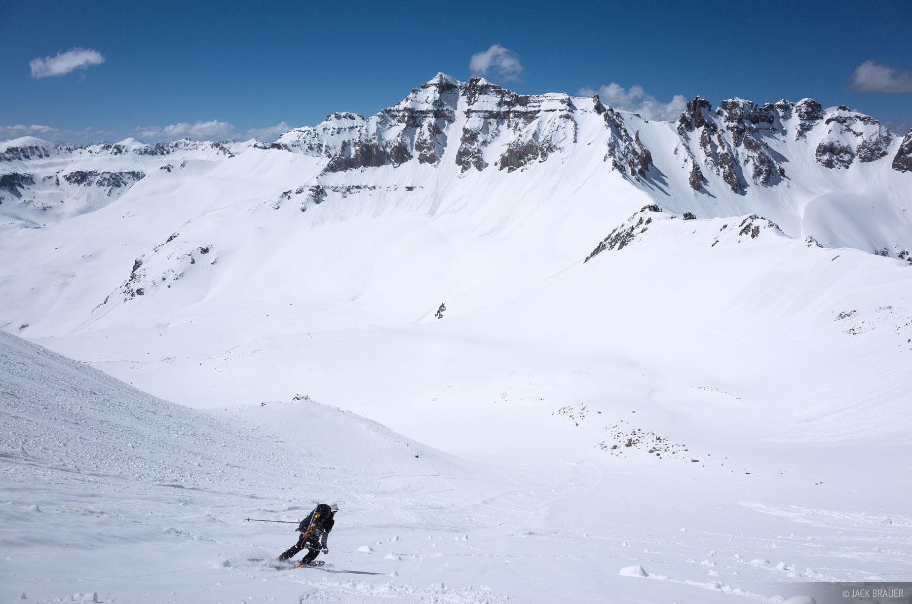 Skier: Karl Trellinger.