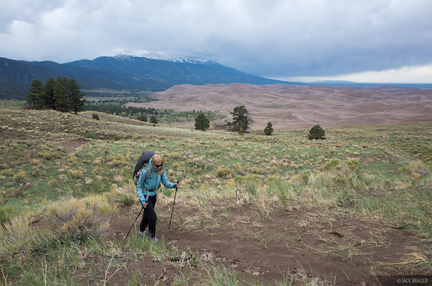 Colorado, Great Sand Dunes, hiking, photo