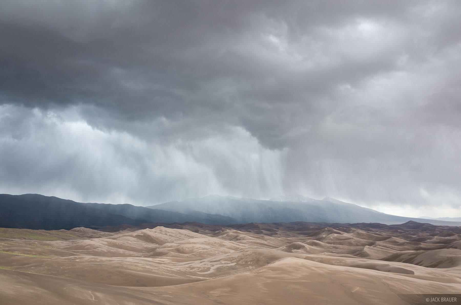 Colorado,Great Sand Dunes, storm, photo