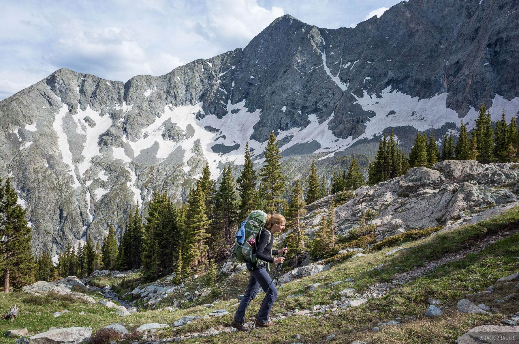 Blanca Peak, Colorado, Sangre de Cristos, hiking, Lily Lake, photo