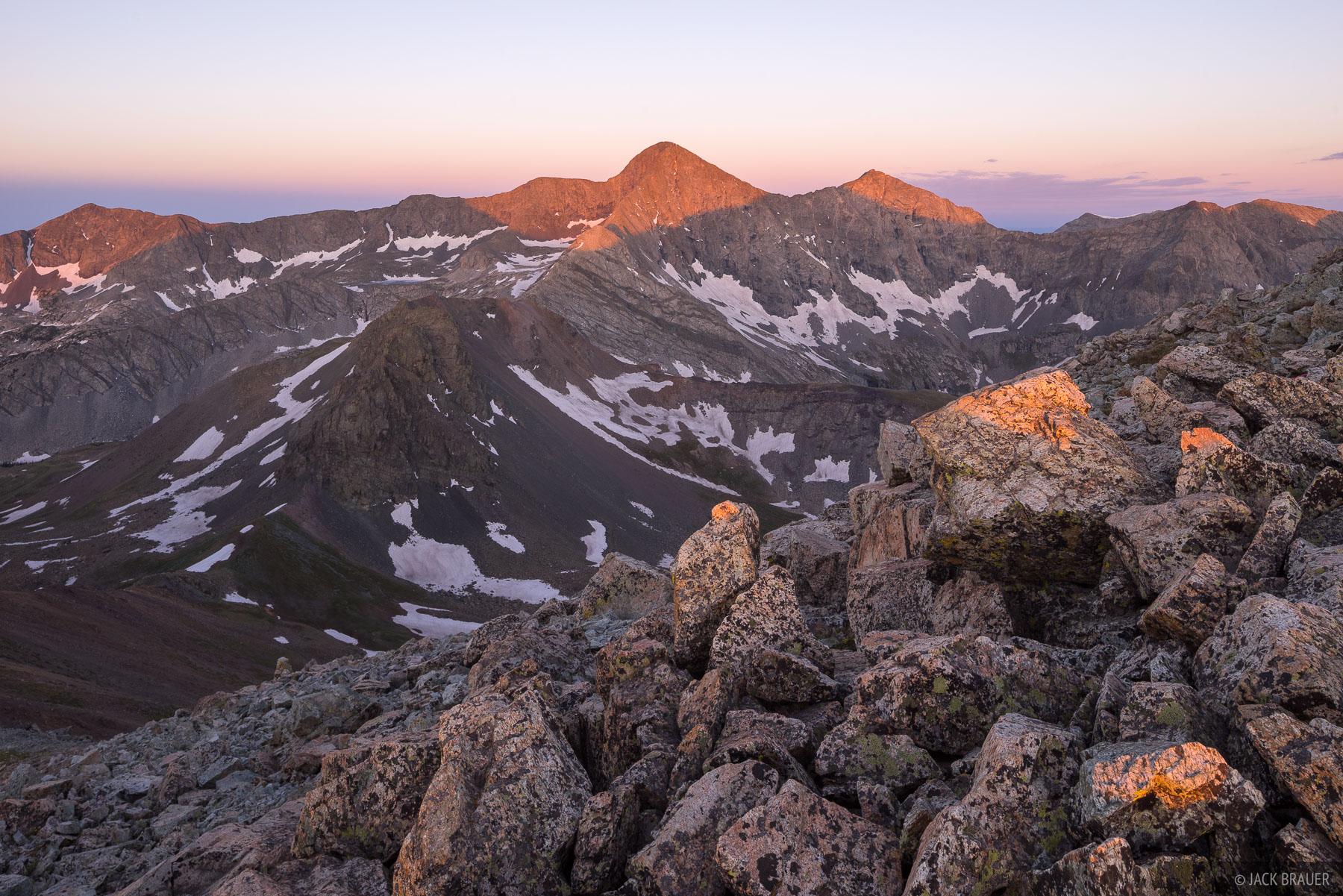 Blanca Peak,Colorado,Sangre de Cristos, fourteener, sunrise, photo