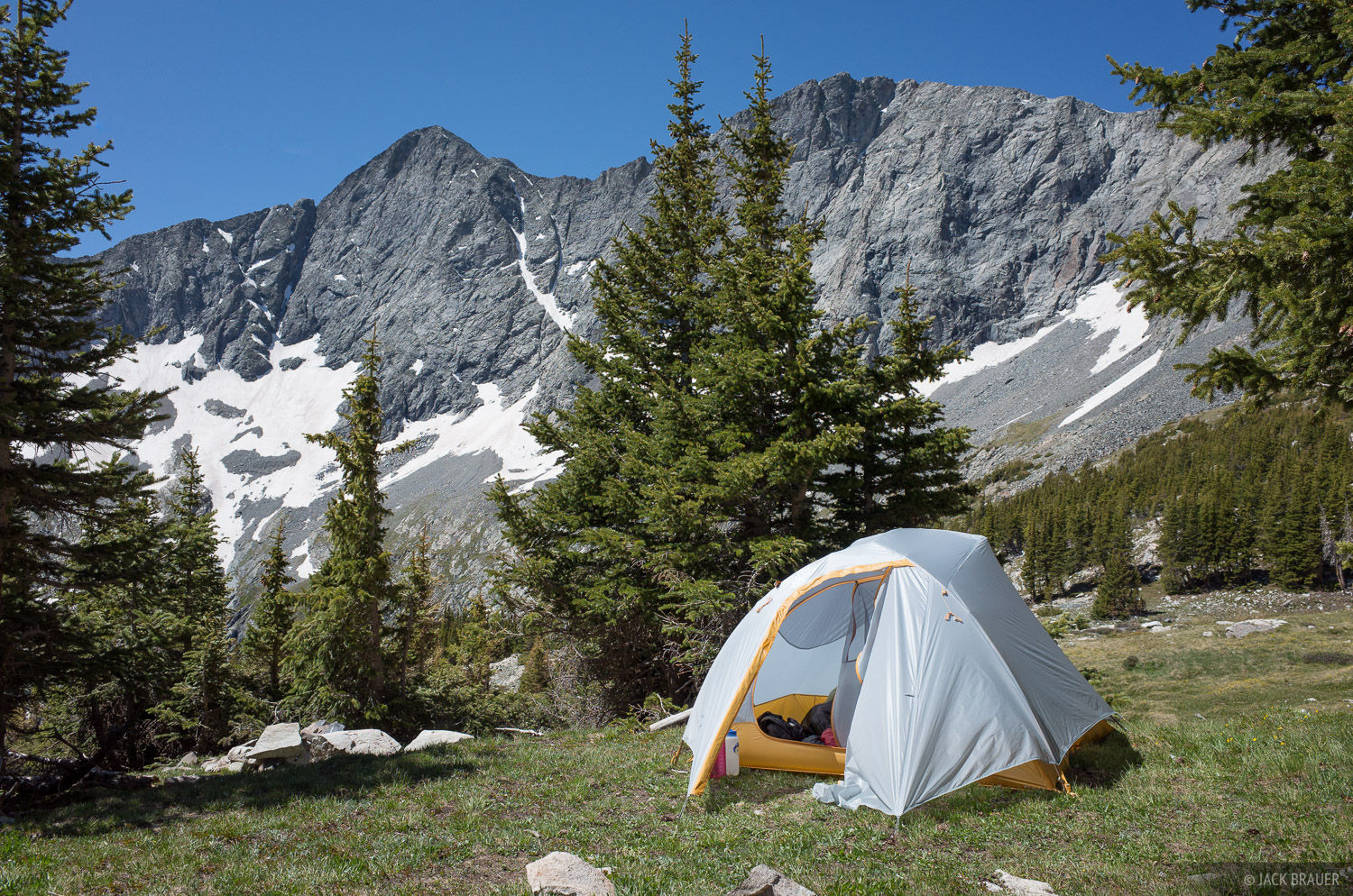 Blanca Peak, Colorado, Sangre de Cristos, tent, Lily Lake, photo