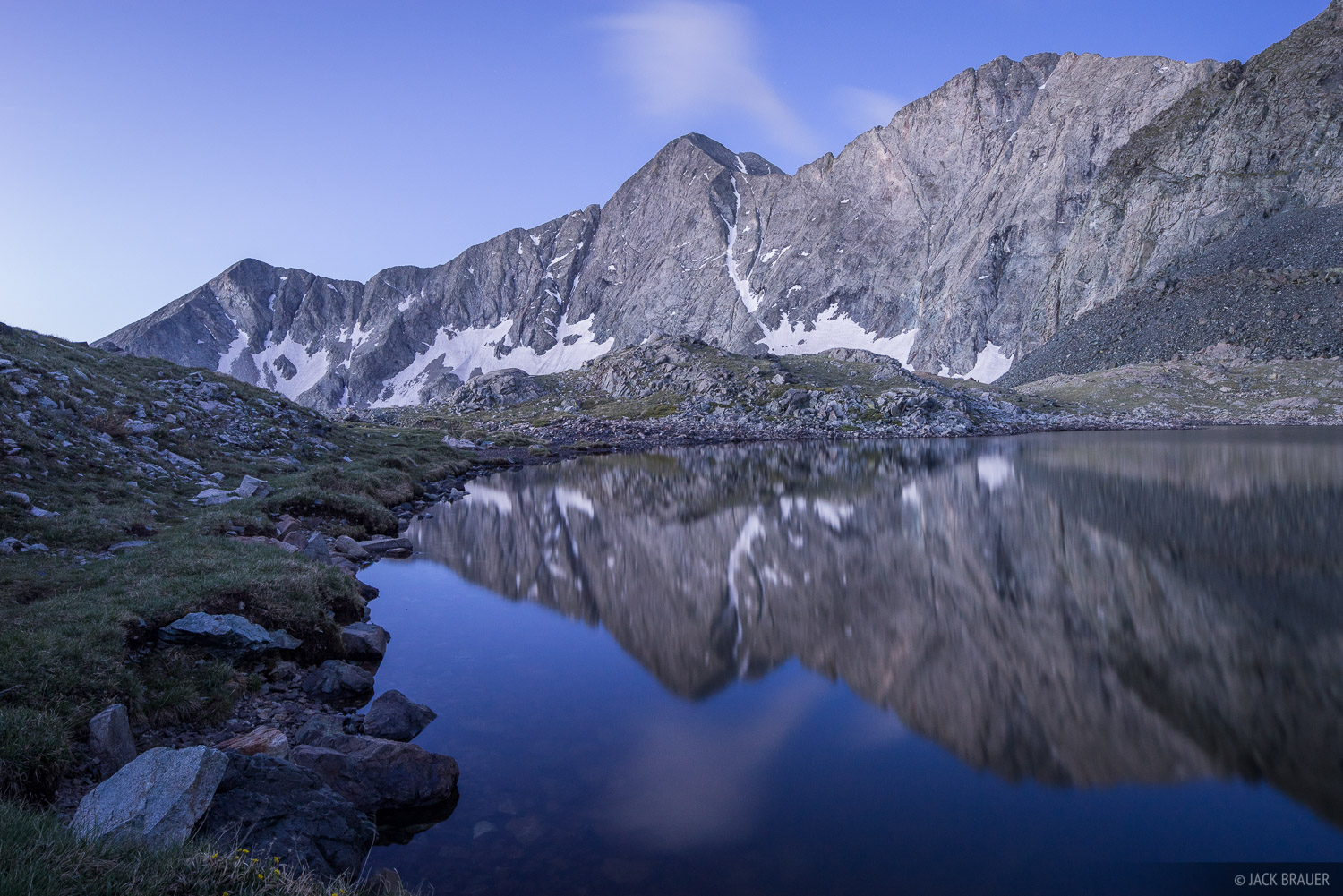 Blanca Peak,Colorado,Sangre de Cristos, fourteener, Lily Lake, photo