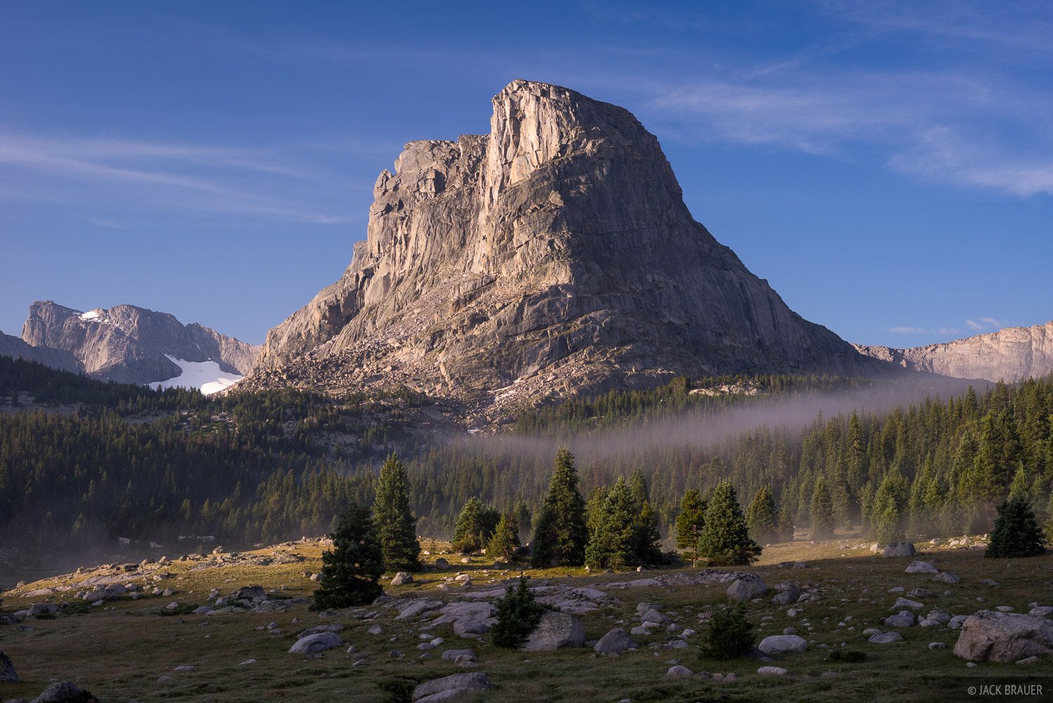 Buffalo Head,Wind River Range,Wyoming, Ranger Park, photo