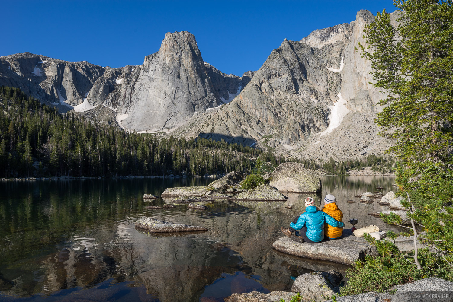 Papoose Lake,Wind River Range,Wyoming, photo
