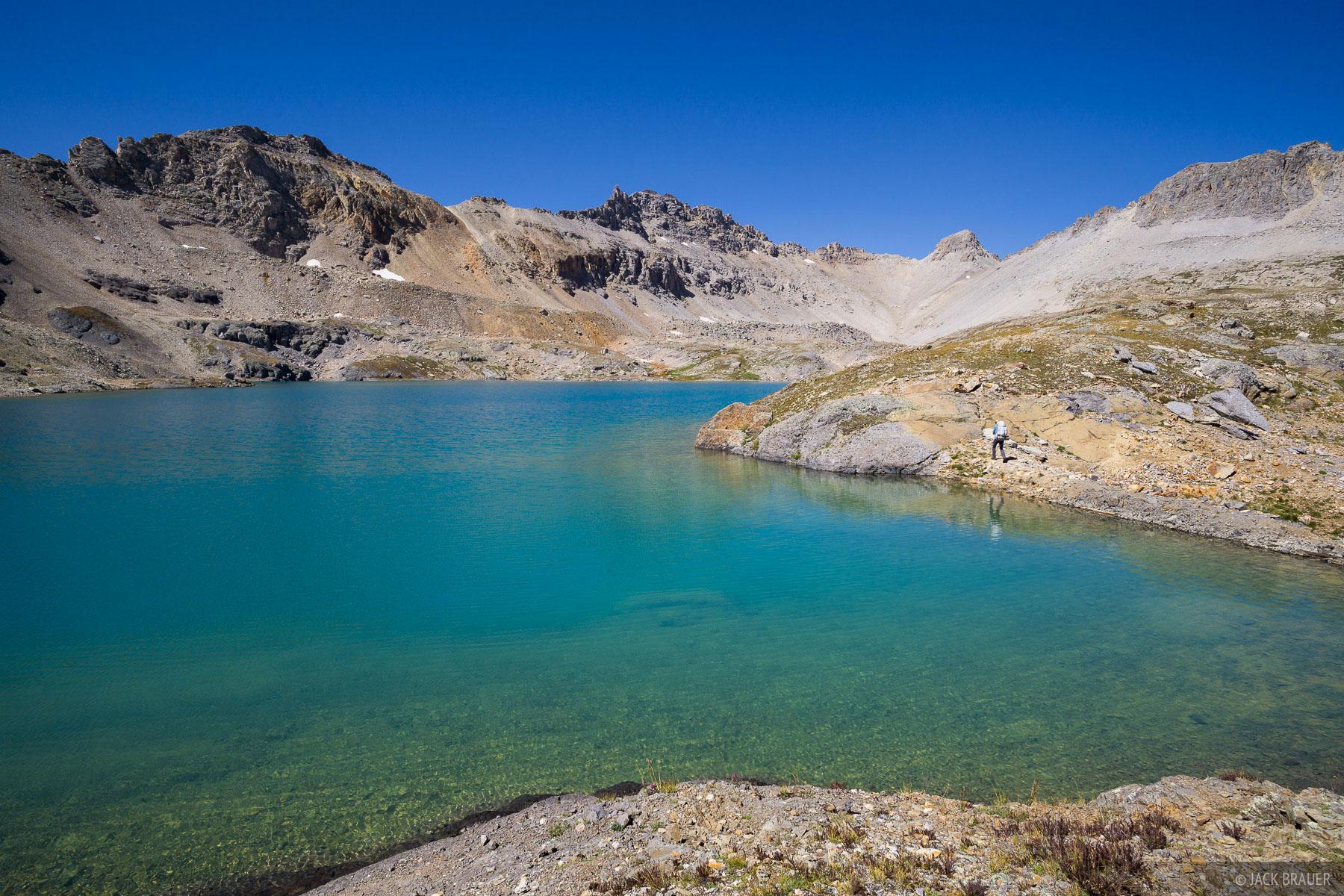 Colorado,Columbine Lake,San Juan Mountains, September, photo