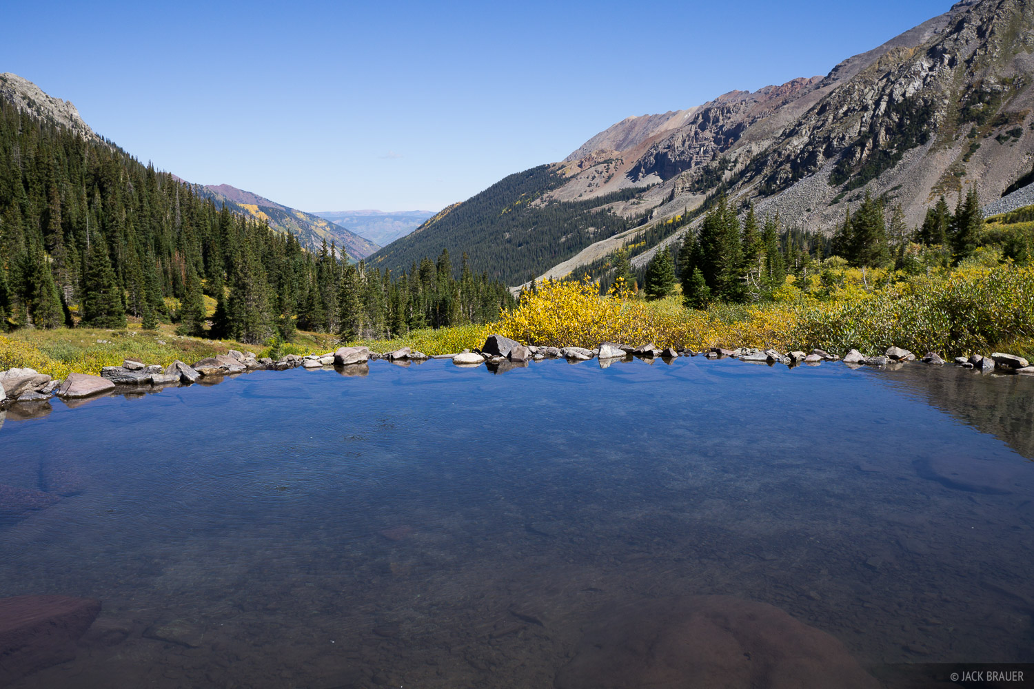 Colorado, Conundrum Hot Springs, Elk Mountains, Maroon Bells-Snowmass Wilderness, photo