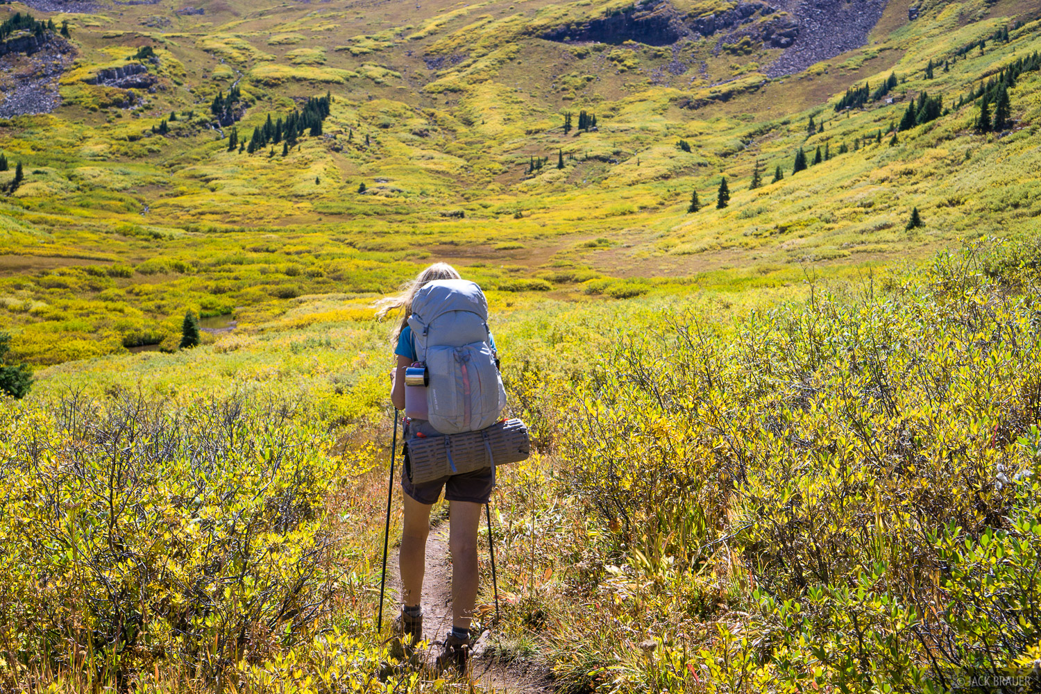 Colorado, Elk Mountains, hiking, Maroon Bells-Snowmass Wilderness, photo