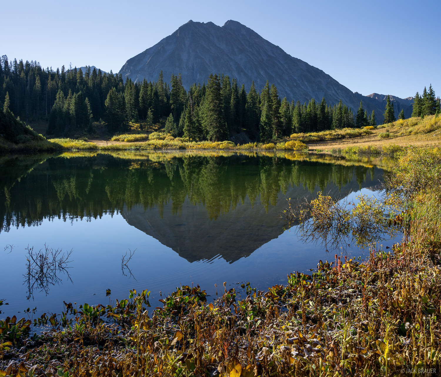 Colorado, Copper Lake, Elk Mountains, Maroon Bells-Snowmass Wilderness, photo