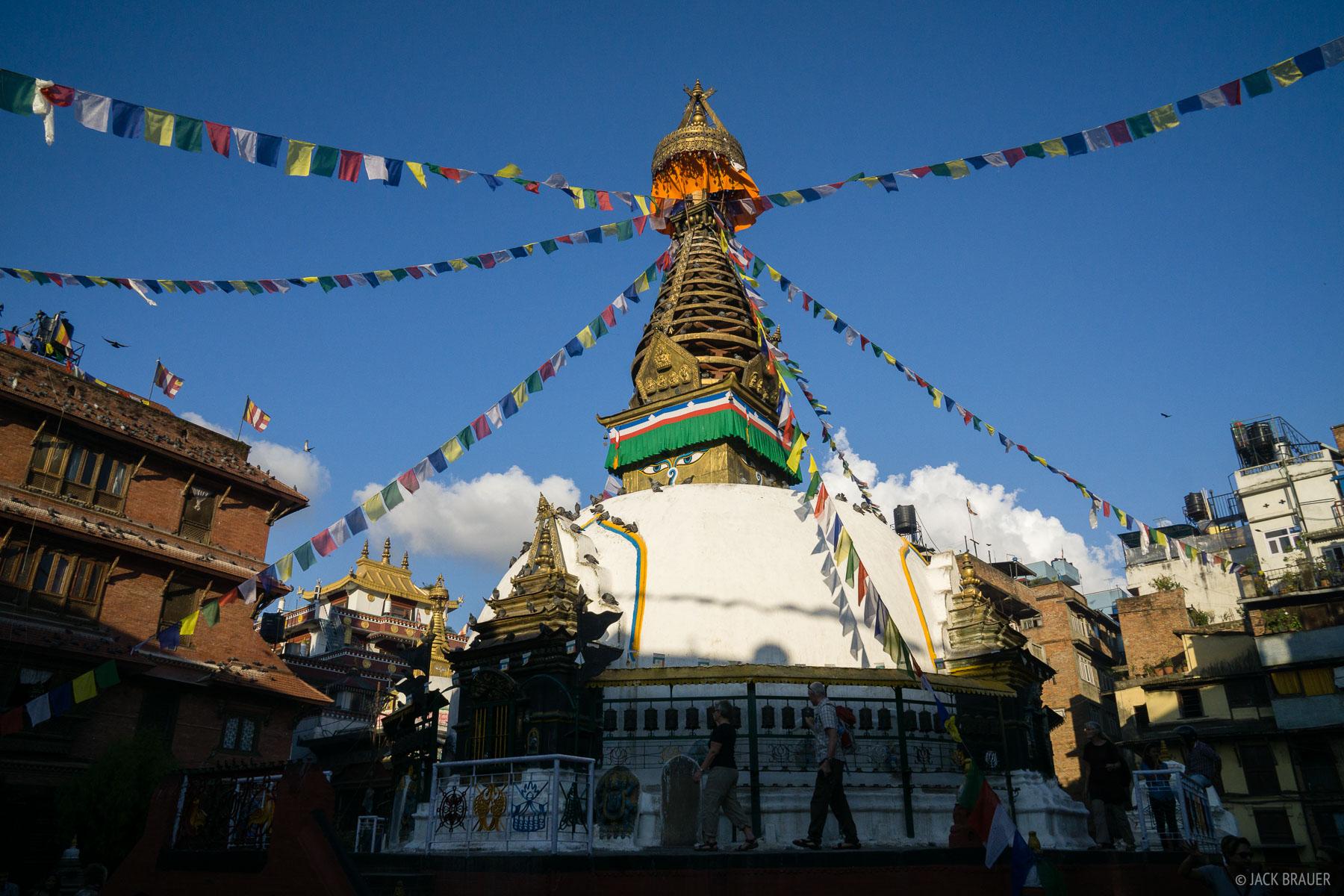 Kathmandu,Nepal,stupa, Thamel, photo