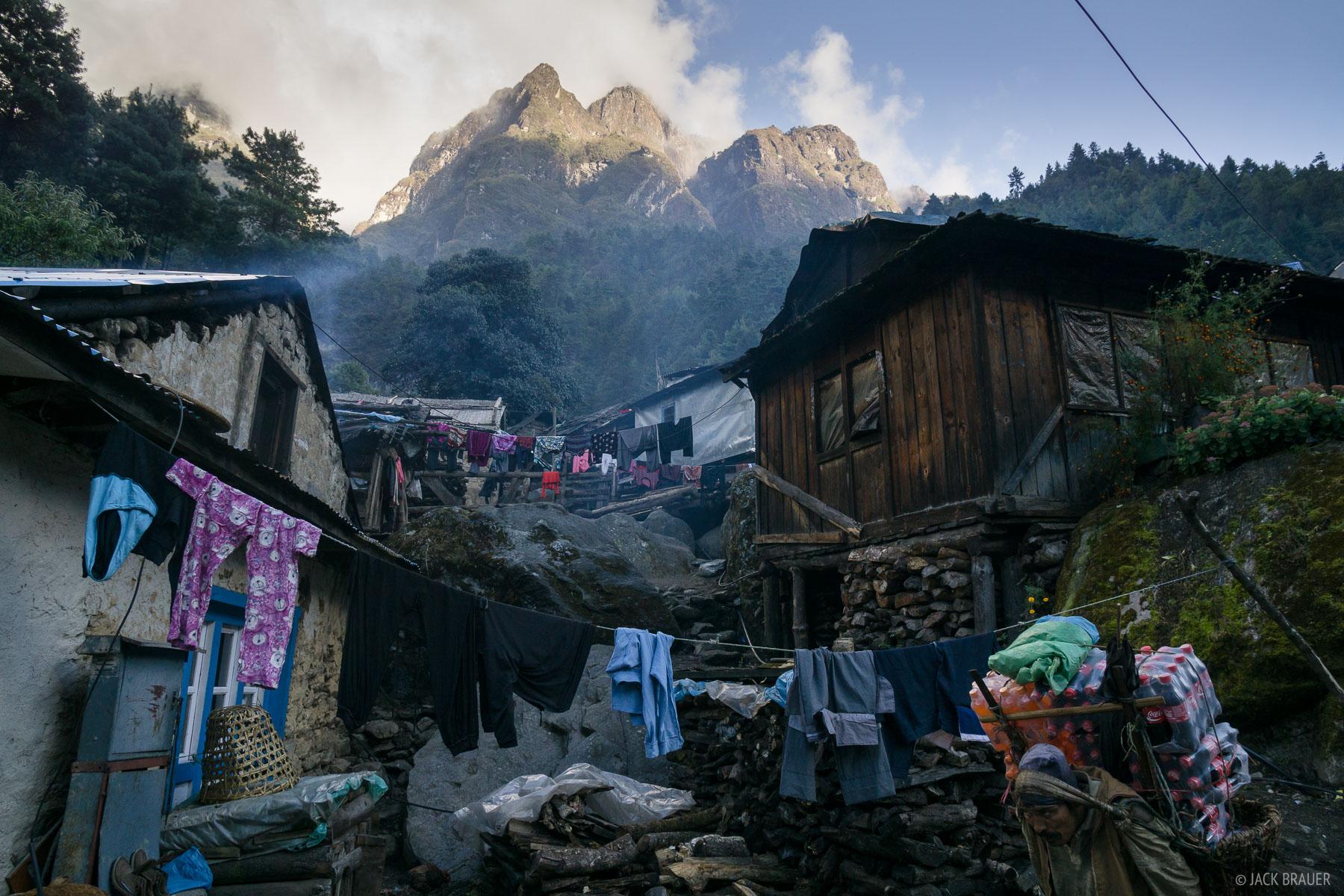 Himalaya,Khumbu,Nepal, Phakding, photo