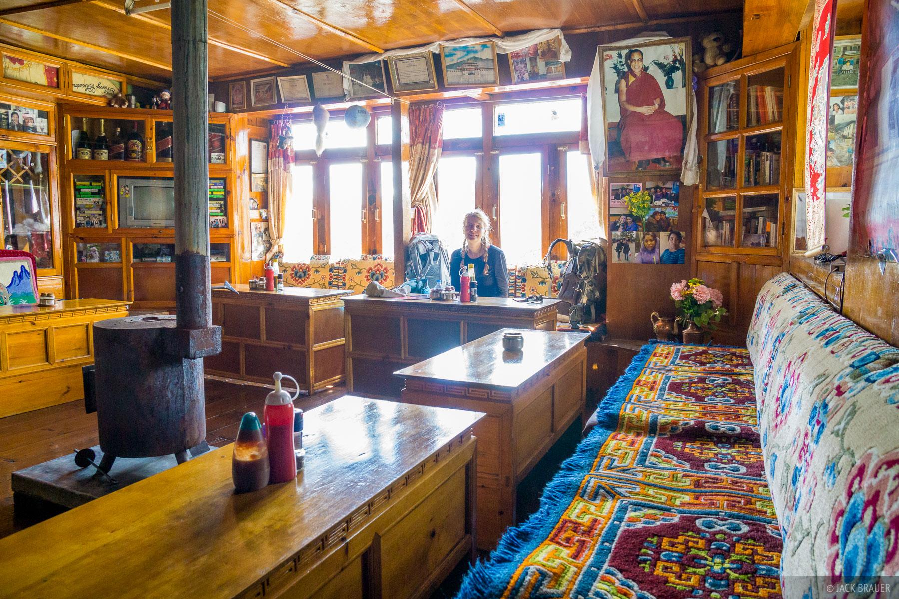 Himalaya,Khumbu,Khumjung,Nepal, teahouse, photo