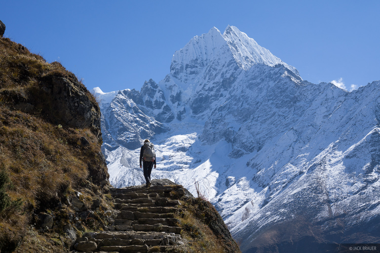 Himalaya,Khumbu,Nepal,Thamserku, hiking, photo
