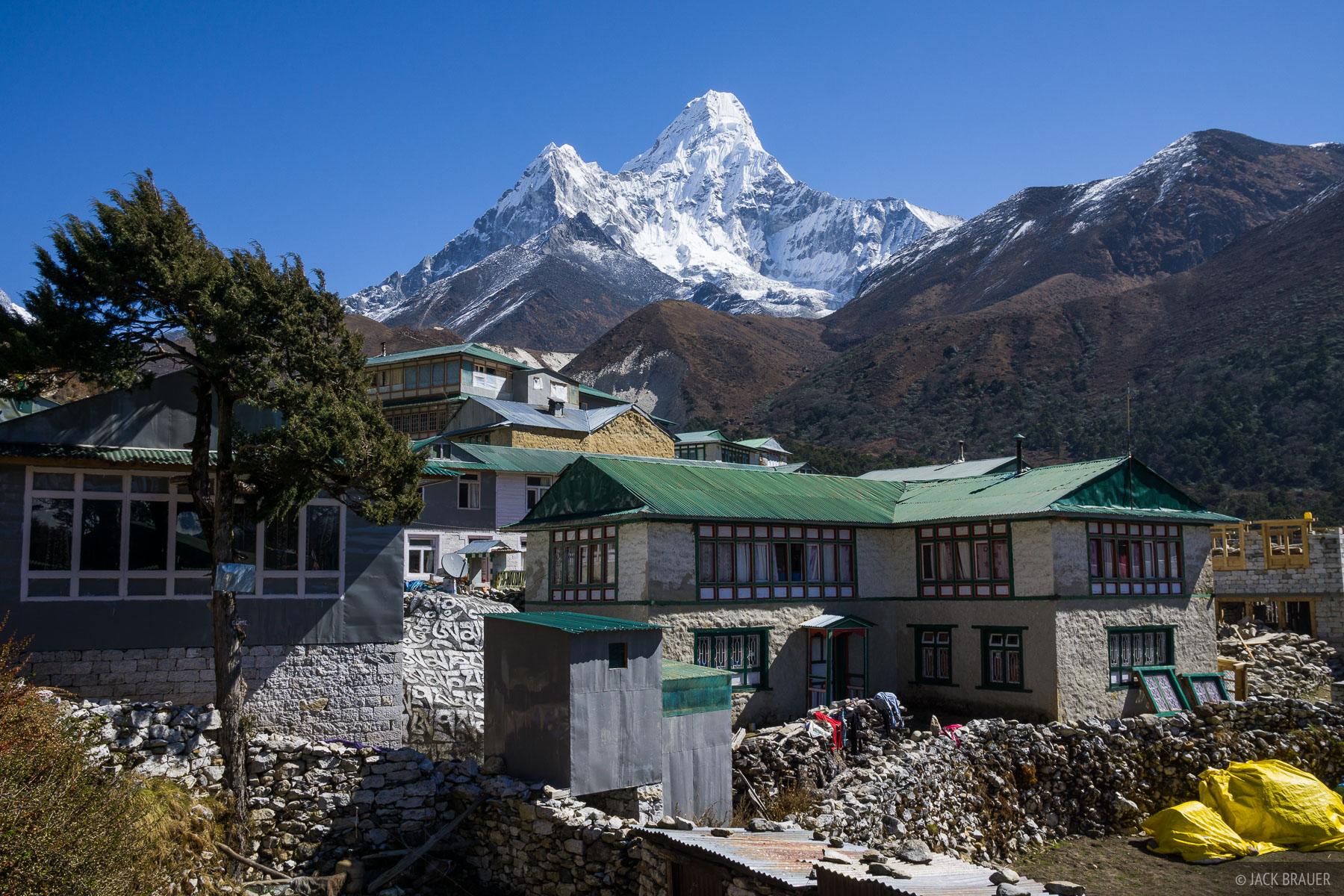 Ama Dablam,Himalaya,Khumbu,Nepal,Pangboche, photo
