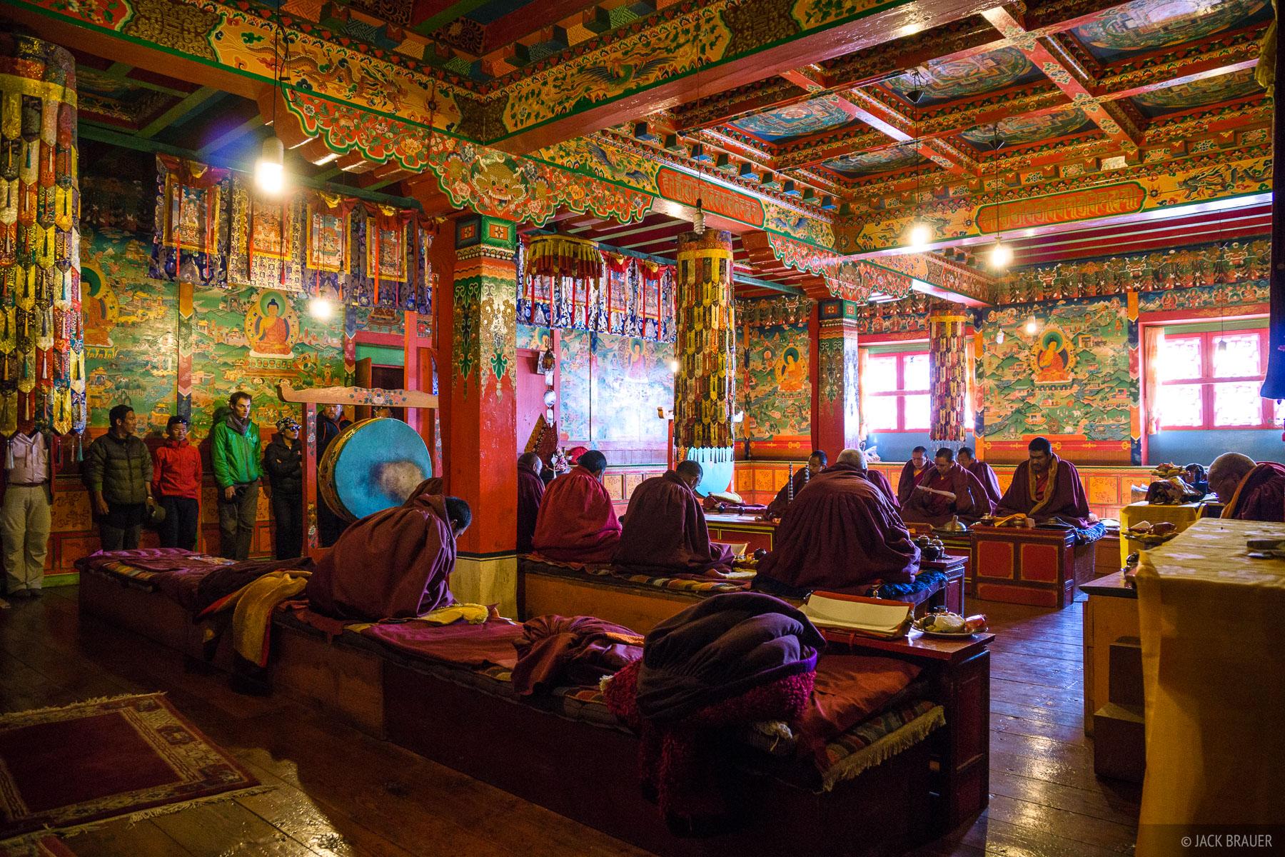Himalaya,Khumbu,Nepal,Tengboche, monks, Buddhist, monastery, photo