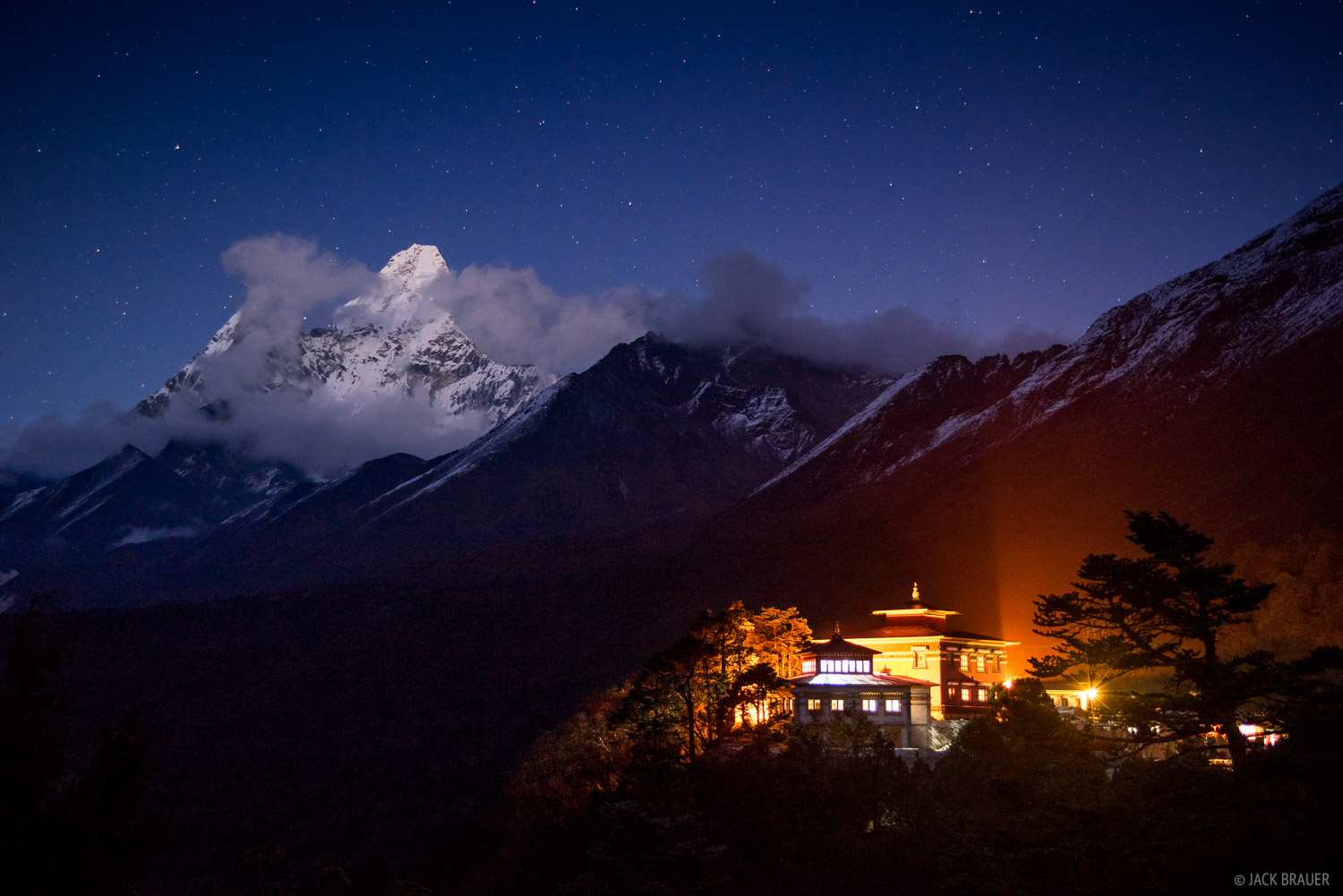 Himalaya,Khumbu,Nepal,Tengboche, Ama Dablam, monastery, photo